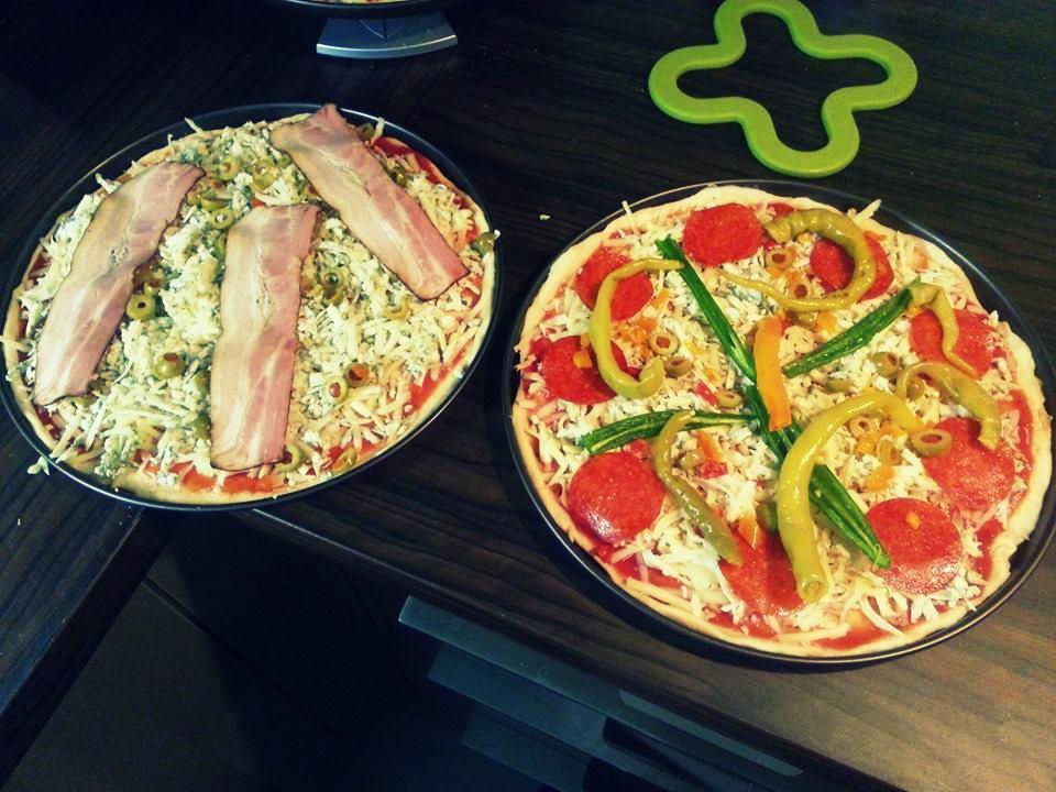Recept Těsto na pizzu z pizzerie - Naše pizzy