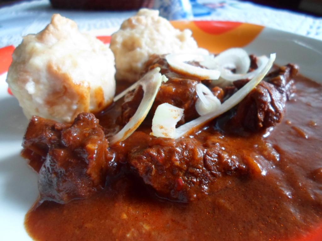 Recept Guláš z jeleního masa - Skvělý gulášek, zase něco jiného :-)