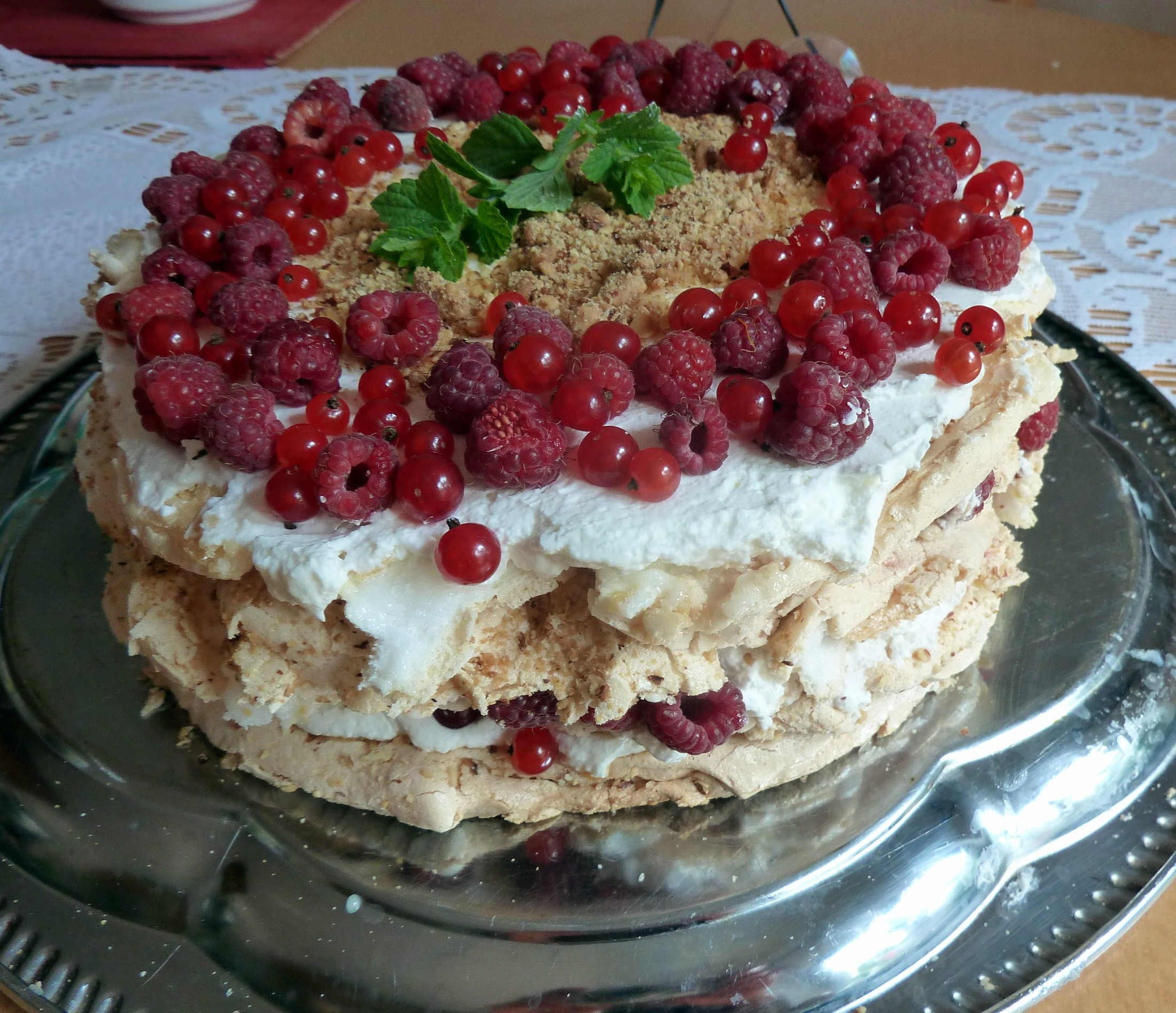 Fotografie receptu: Australský dort Pavlova