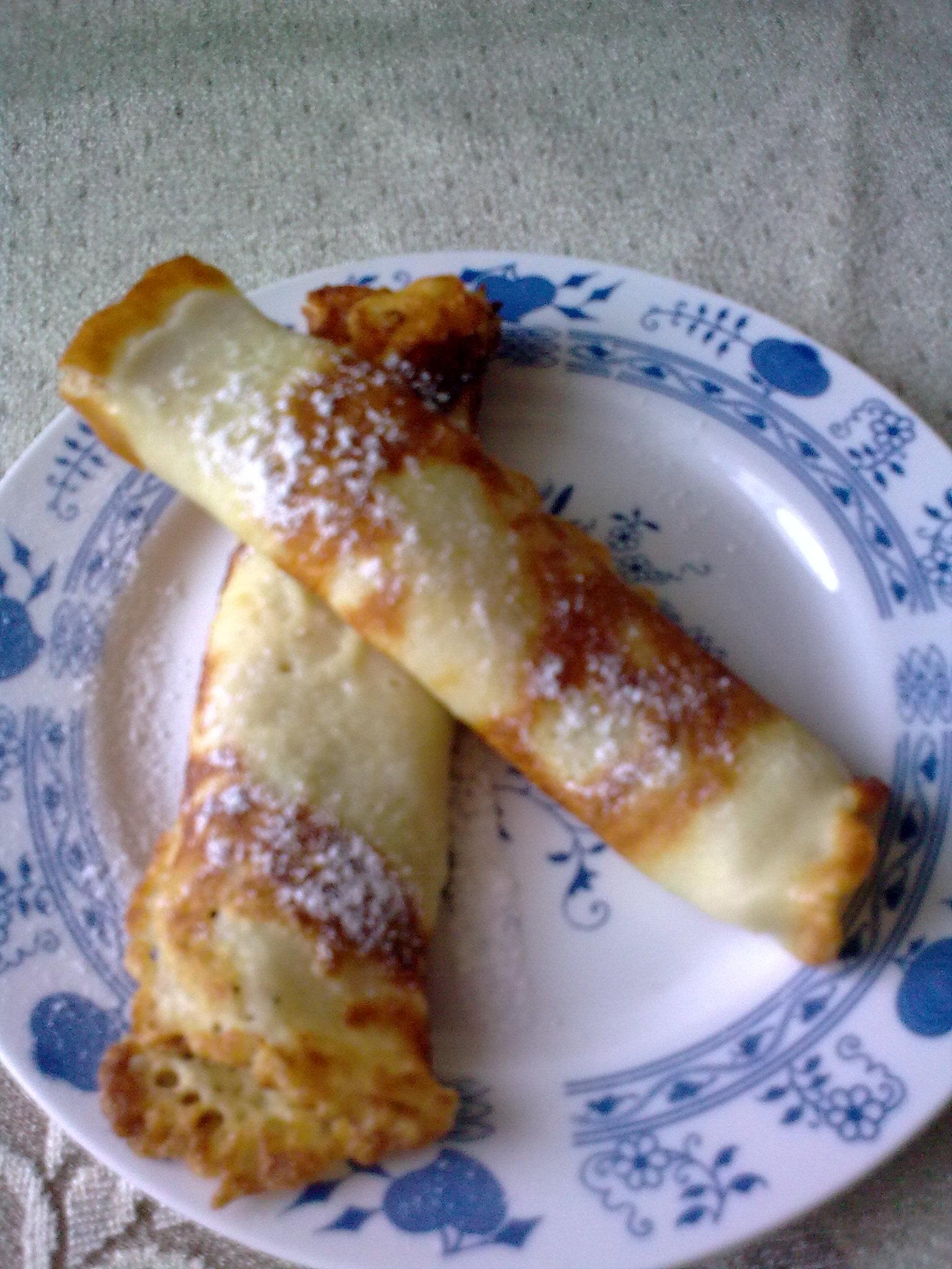 Recept Klasické sladké palačinky - Klasické sladké palačinky