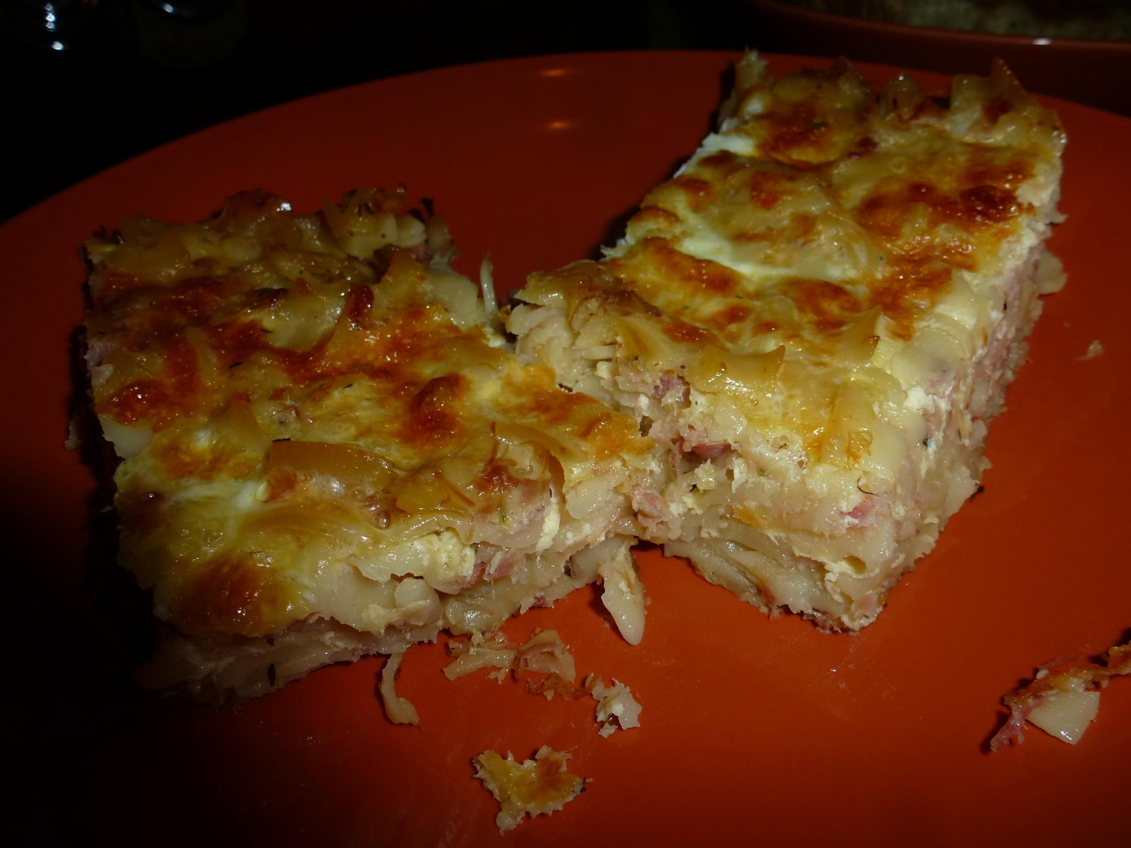 Recept Zapékané těstoviny - Vynikající