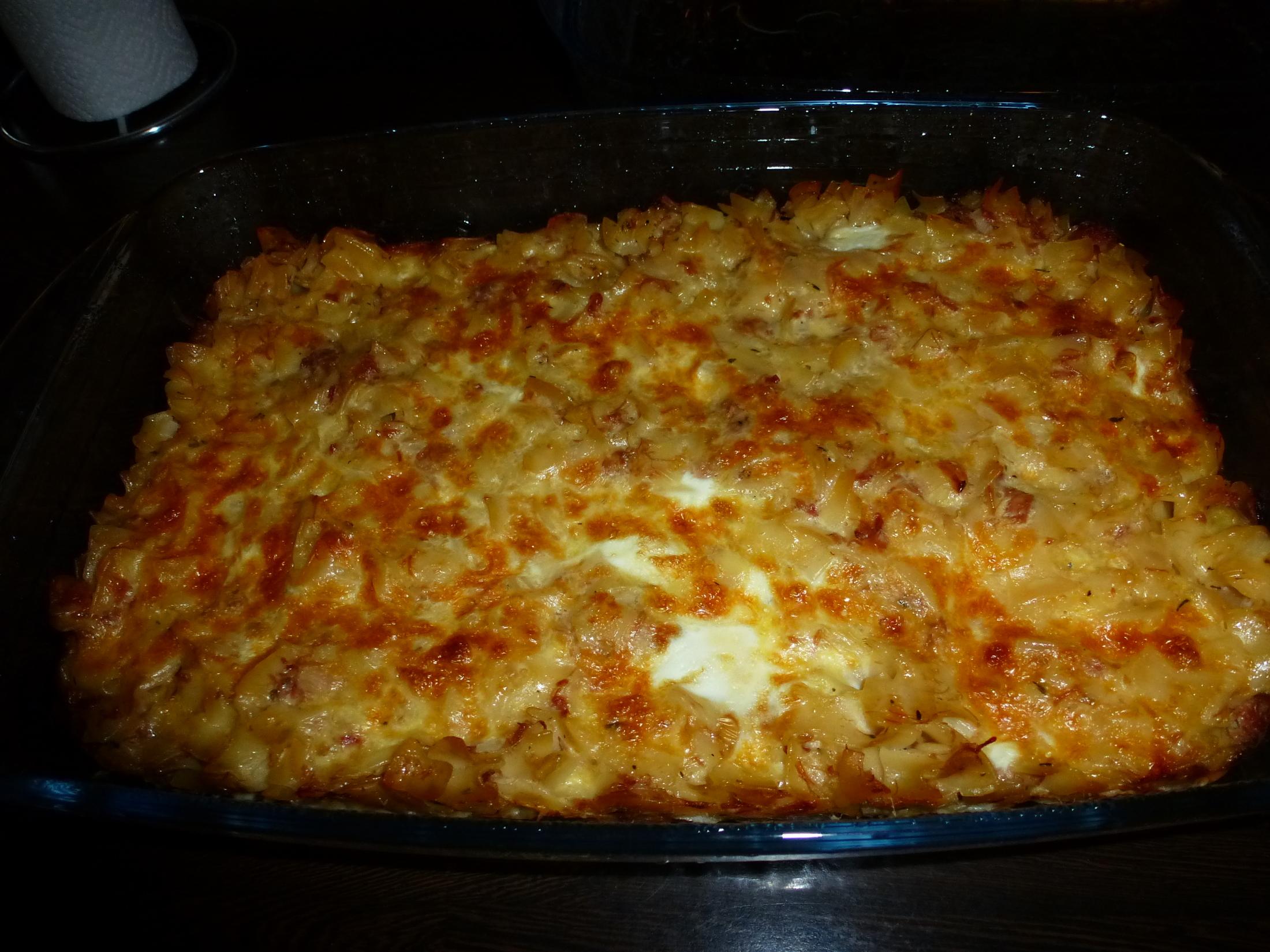 Fotografie receptu: Zapékané těstoviny