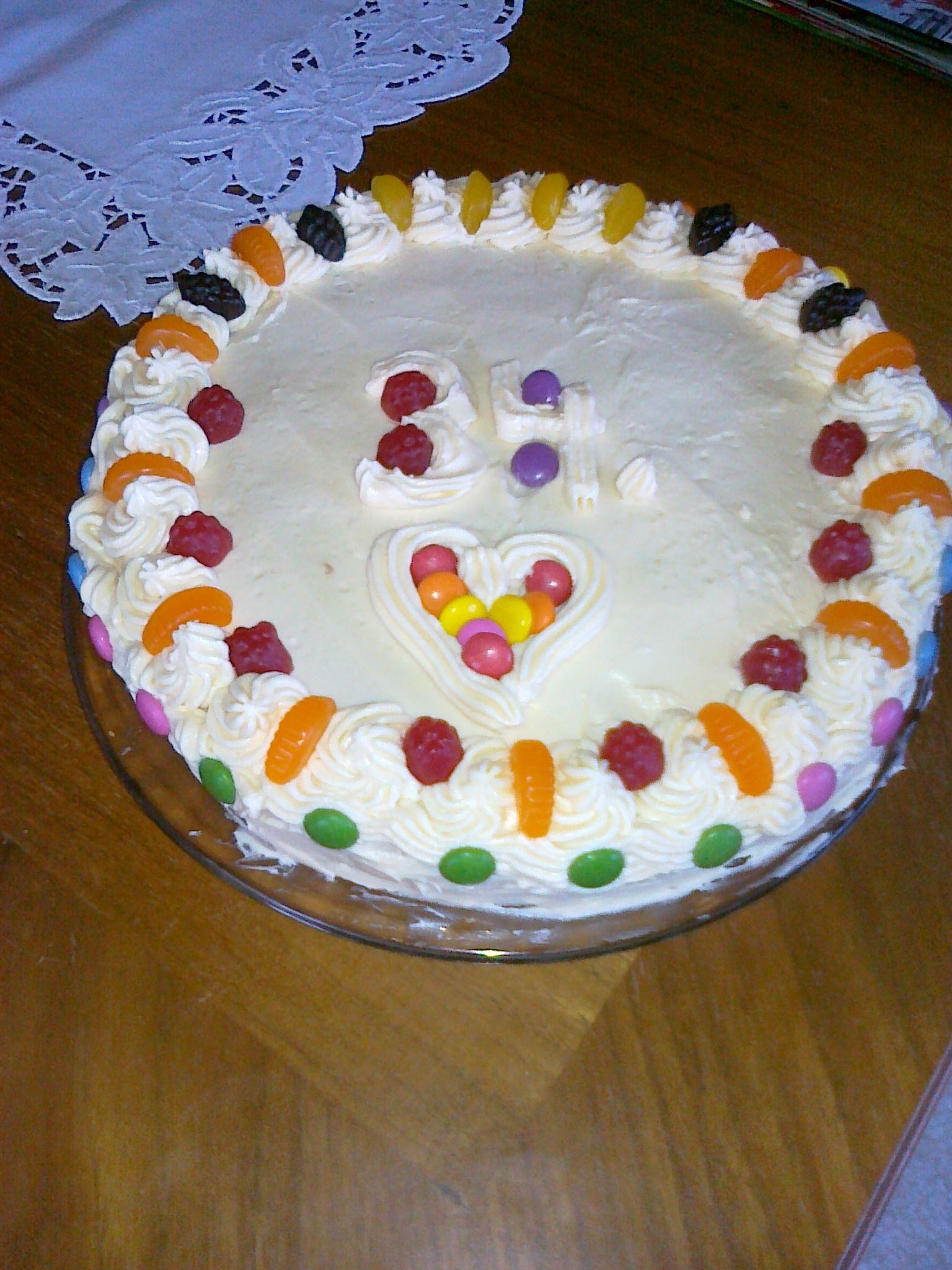 Recept Mandlový krémový dort - Mandlový krémový dort.