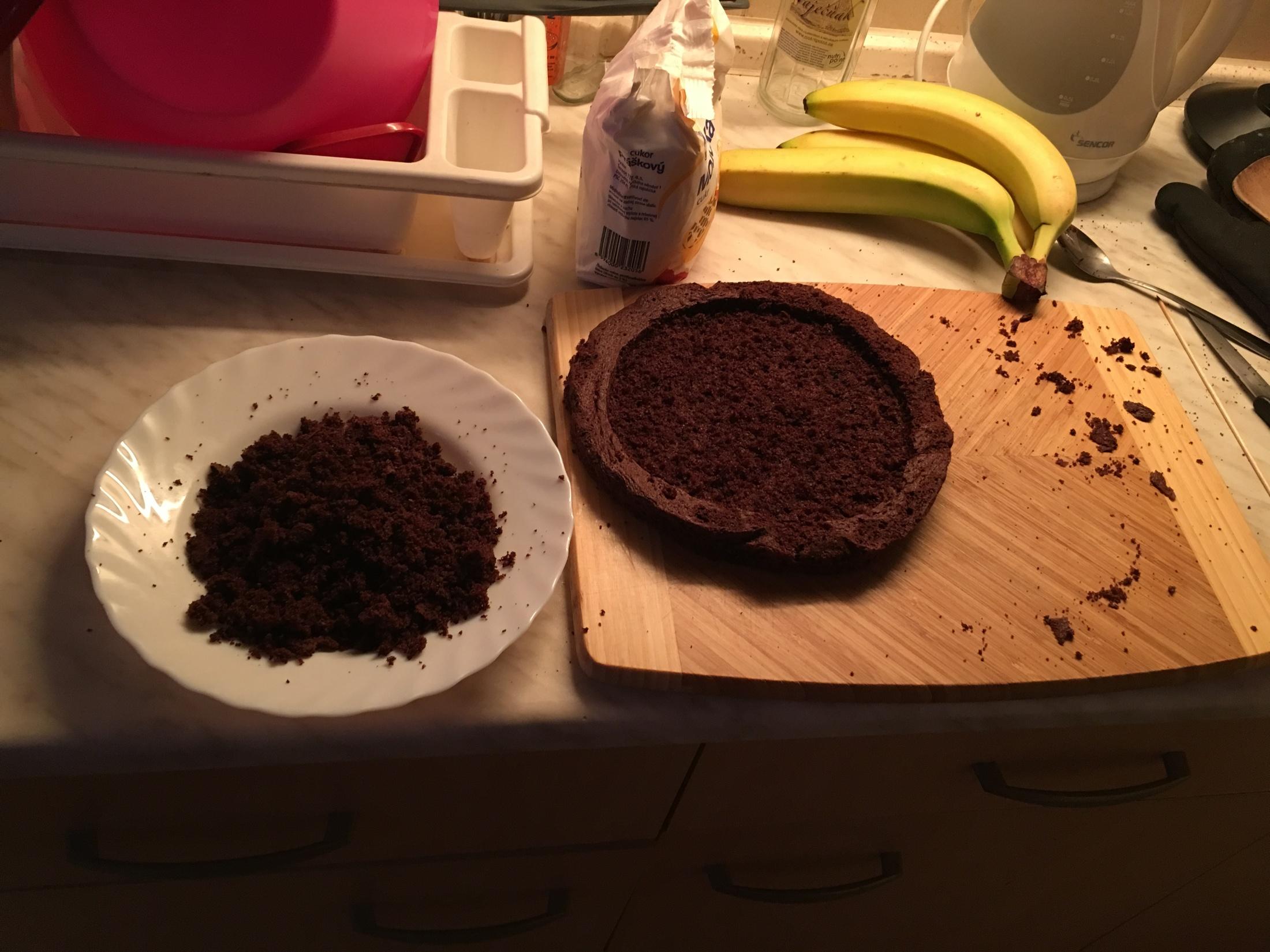 Recept Domácí krtkův dort - Krtkův dort - výroba