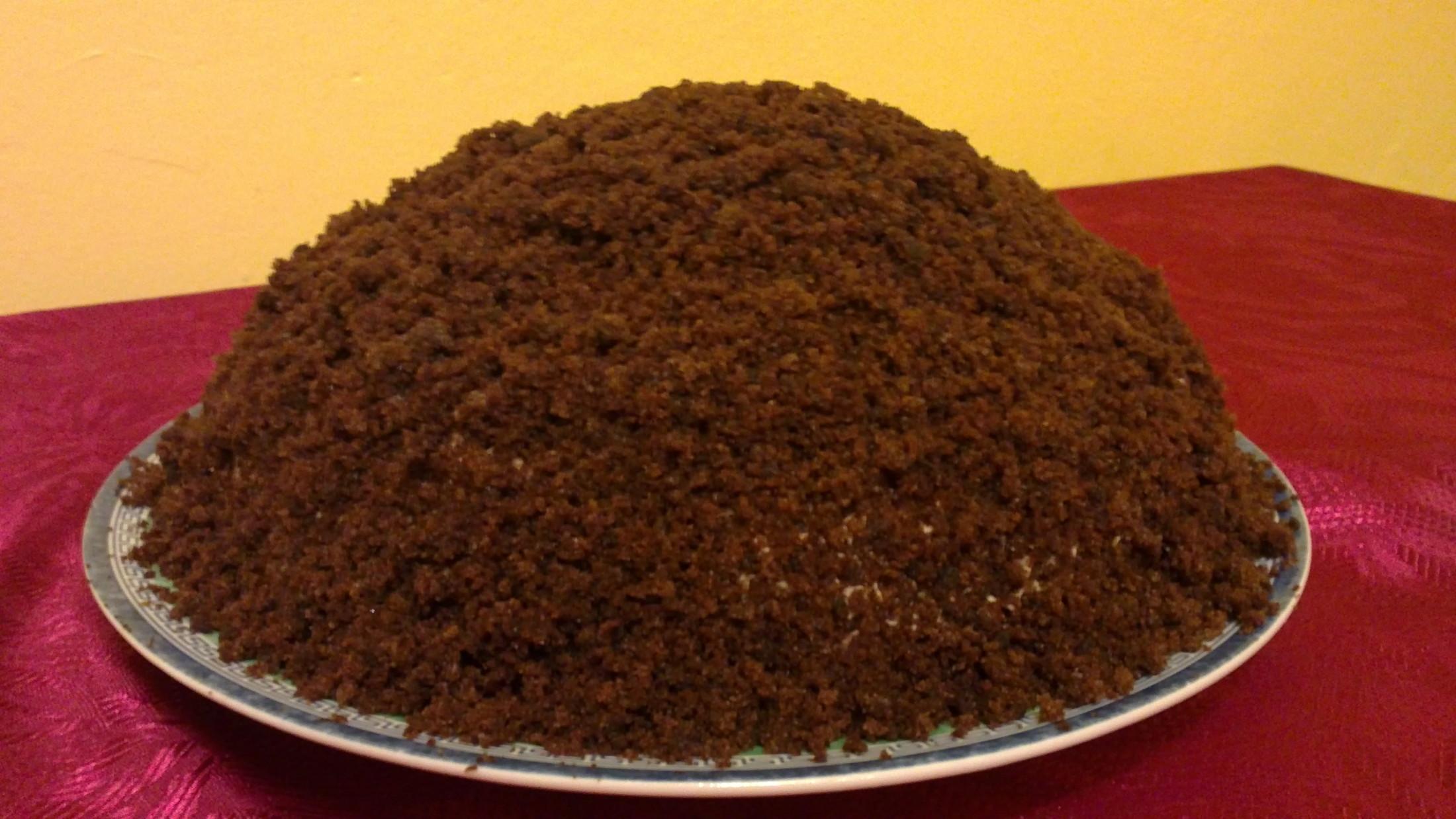 Recept Domácí krtkův dort - Můj výtvor!
