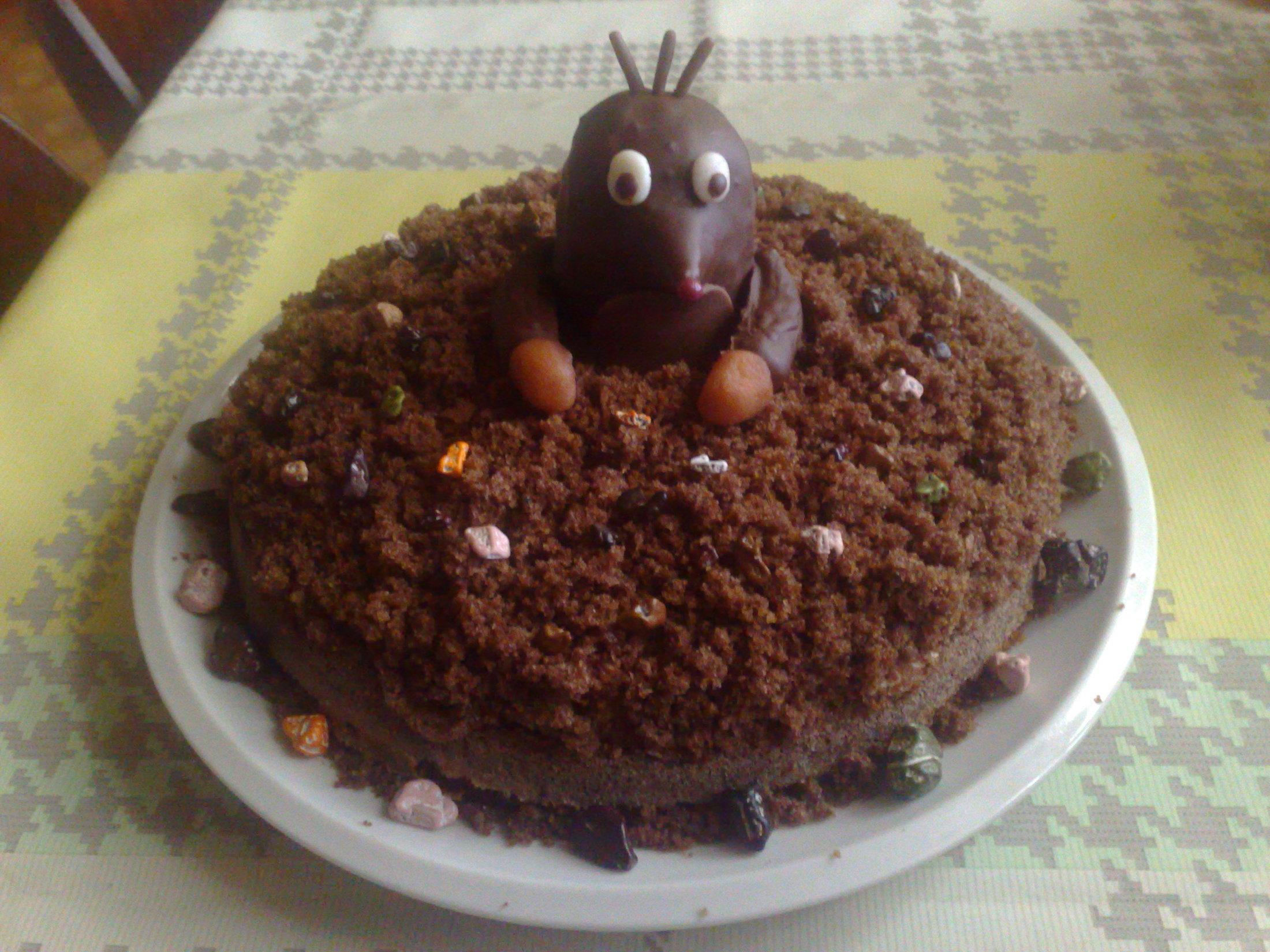 Recept Domácí krtkův dort - Domácí krtkův dort
