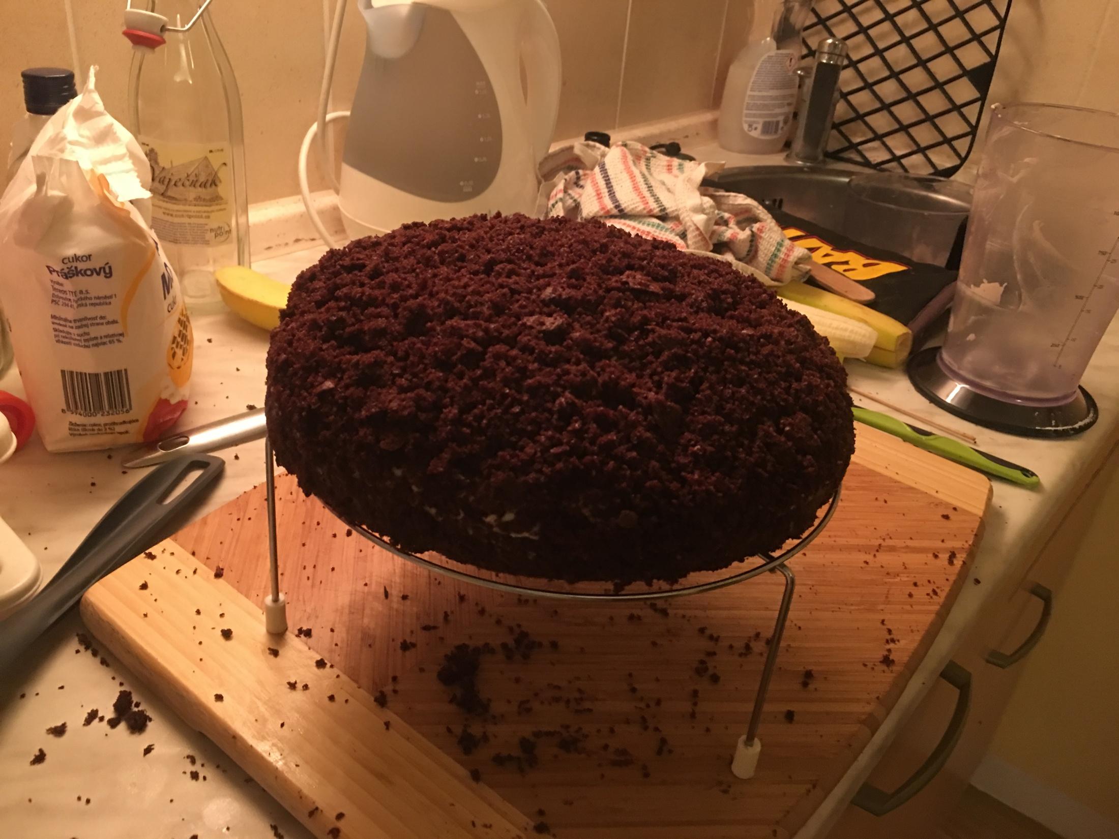 Recept Domácí krtkův dort - Krtkův dort - výsledek
