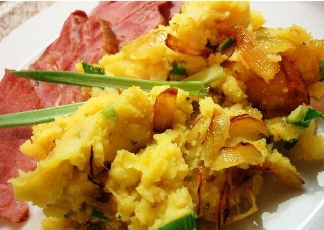 Famózní šťouchané brambory