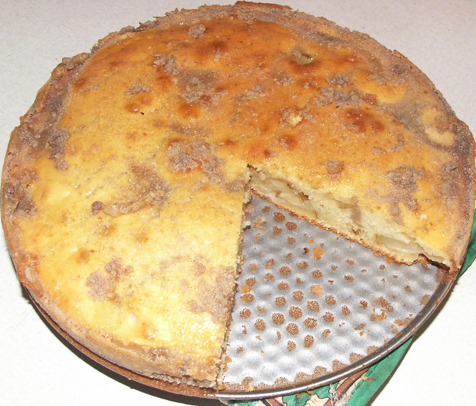 Recept Francouzský hruškový koláč - Hruškový koláč s banánem