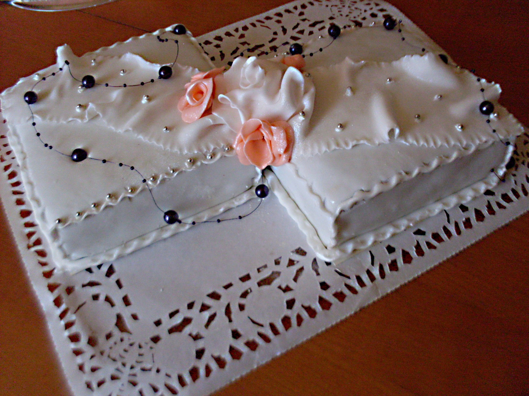 Recept Výborné piškotové těsto - na svatbu - schwarcvald