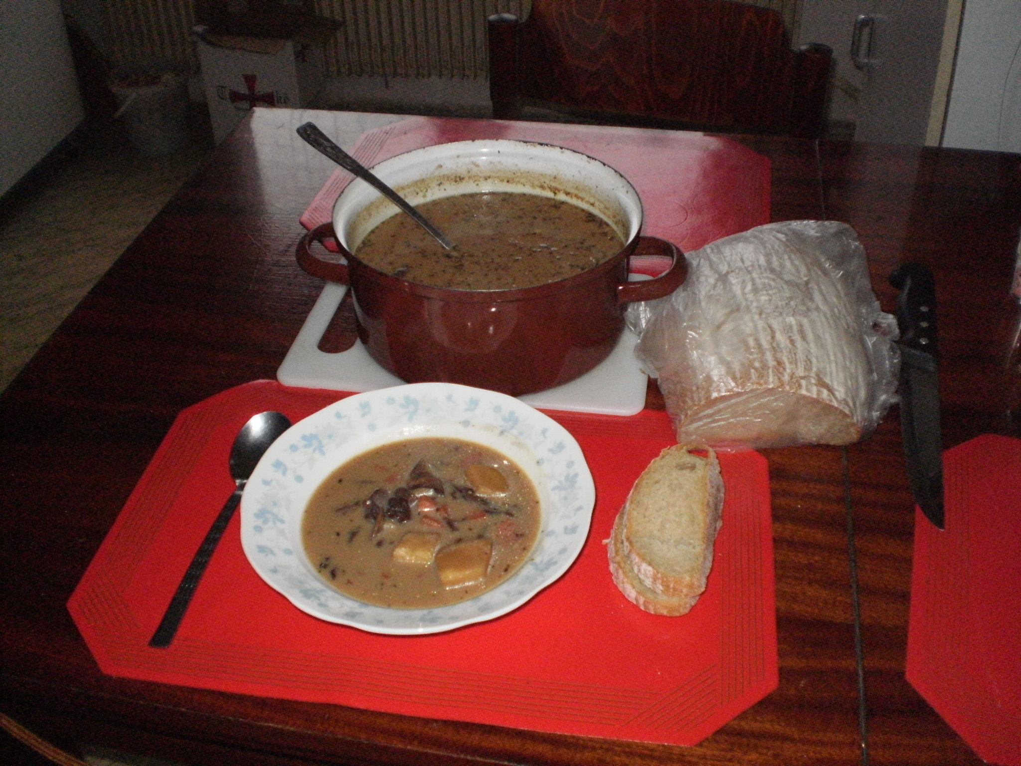 Fotografie receptu: Houbová polévka se zeleninou