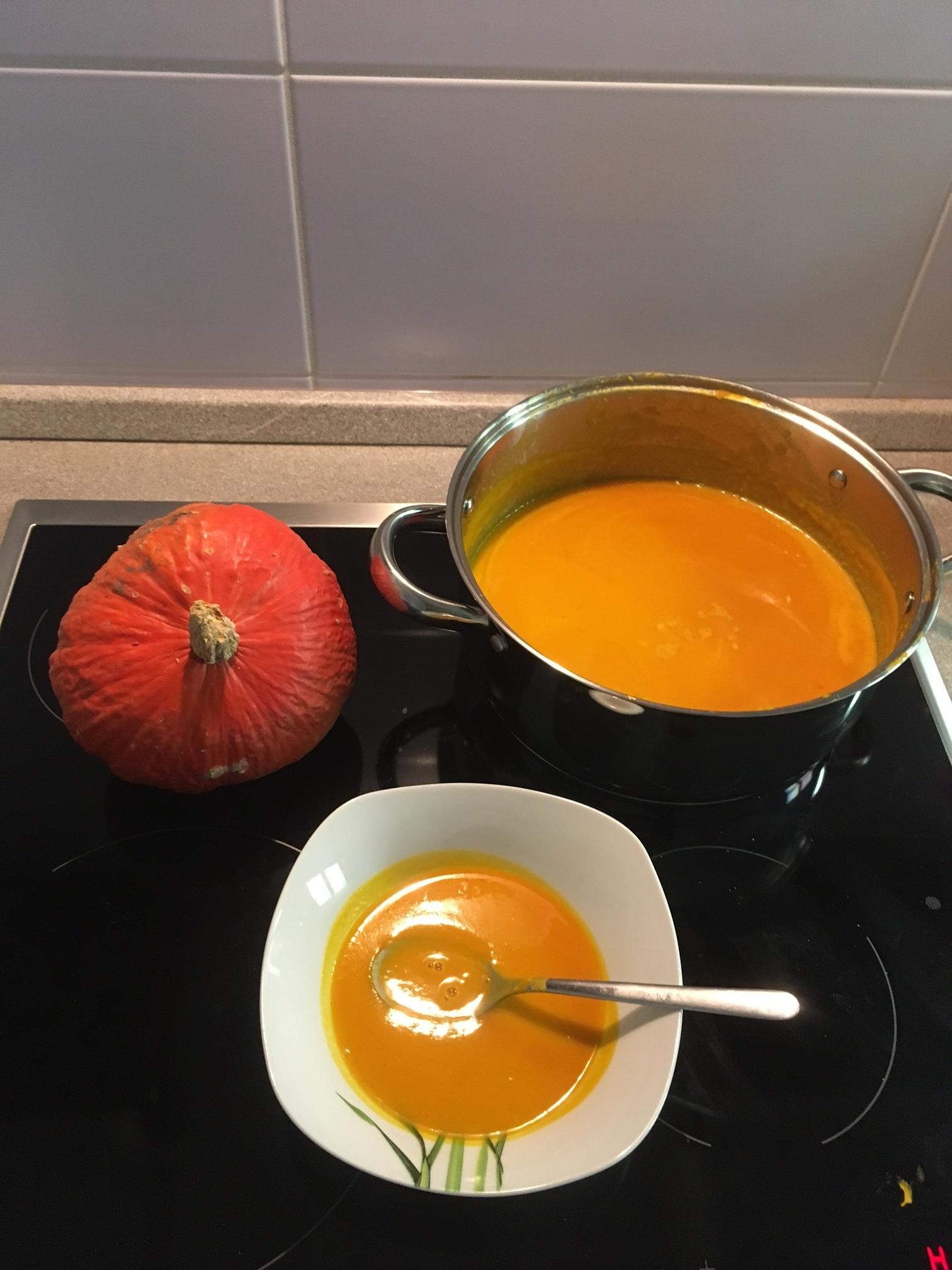 Recept Výborná dýňová polévka - Výborná dýňová polévka