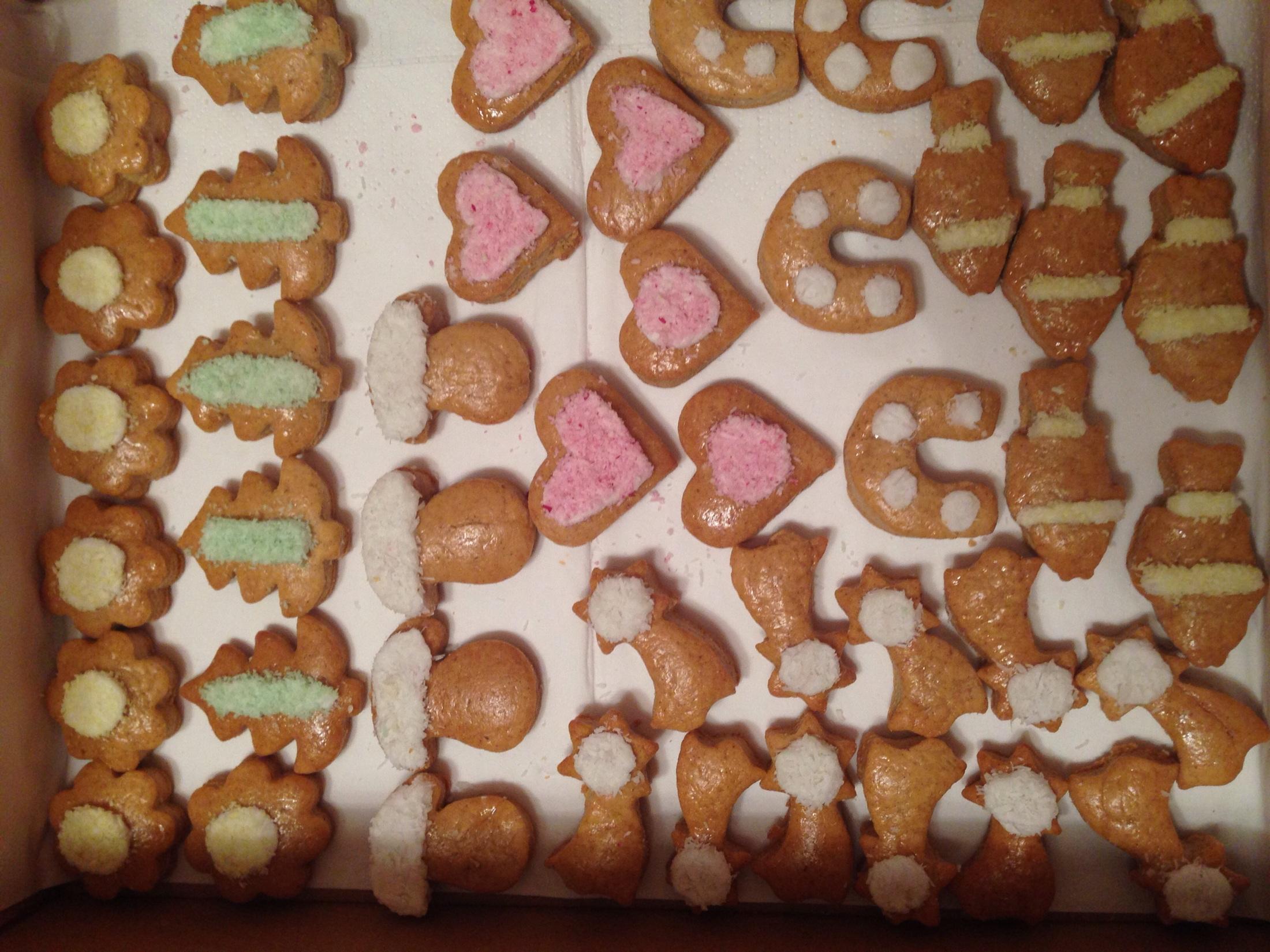 Recept Měkké medové perníčky - Vánoční perníčky