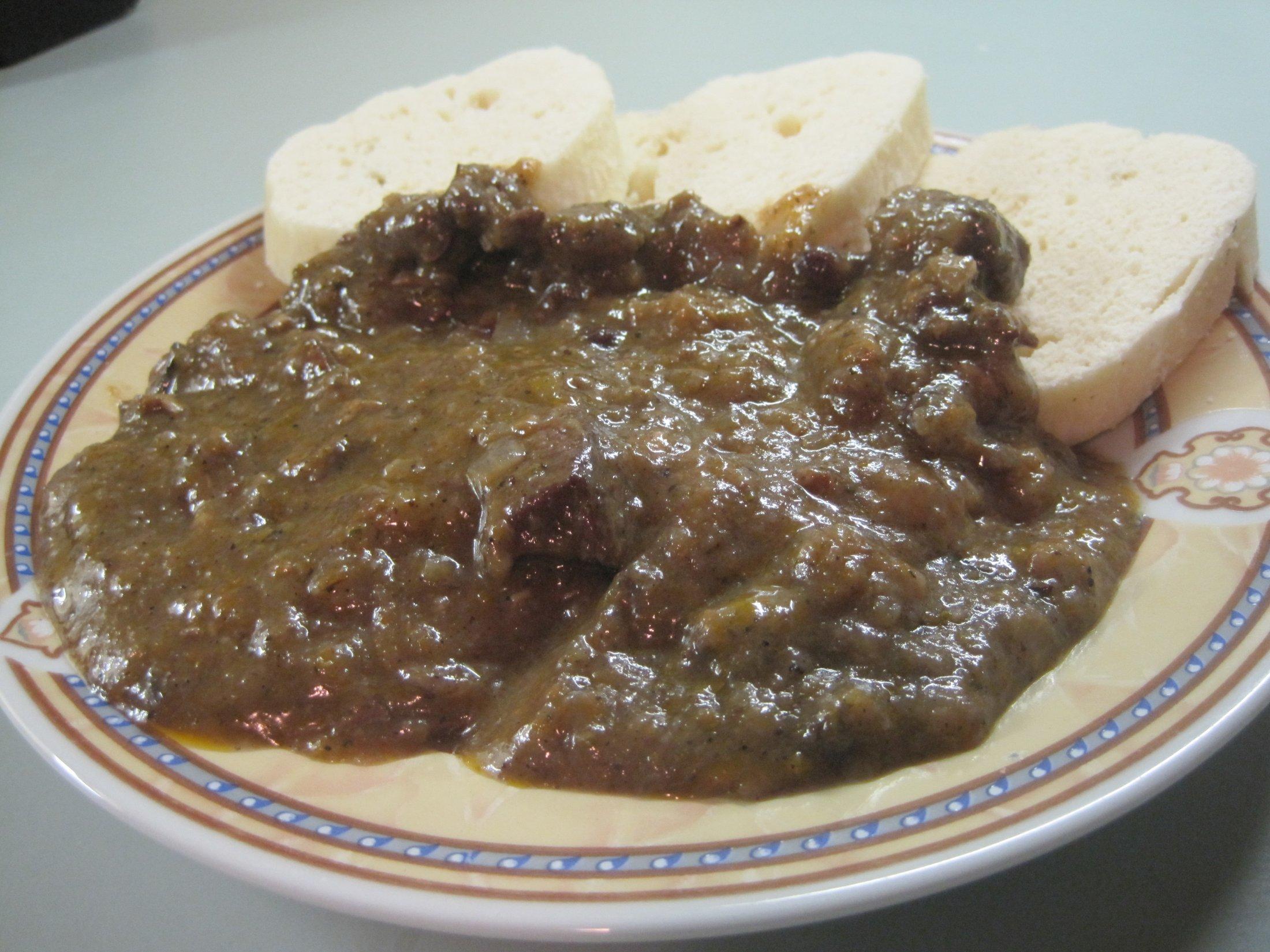 Fotografie receptu: Kančí gulášek