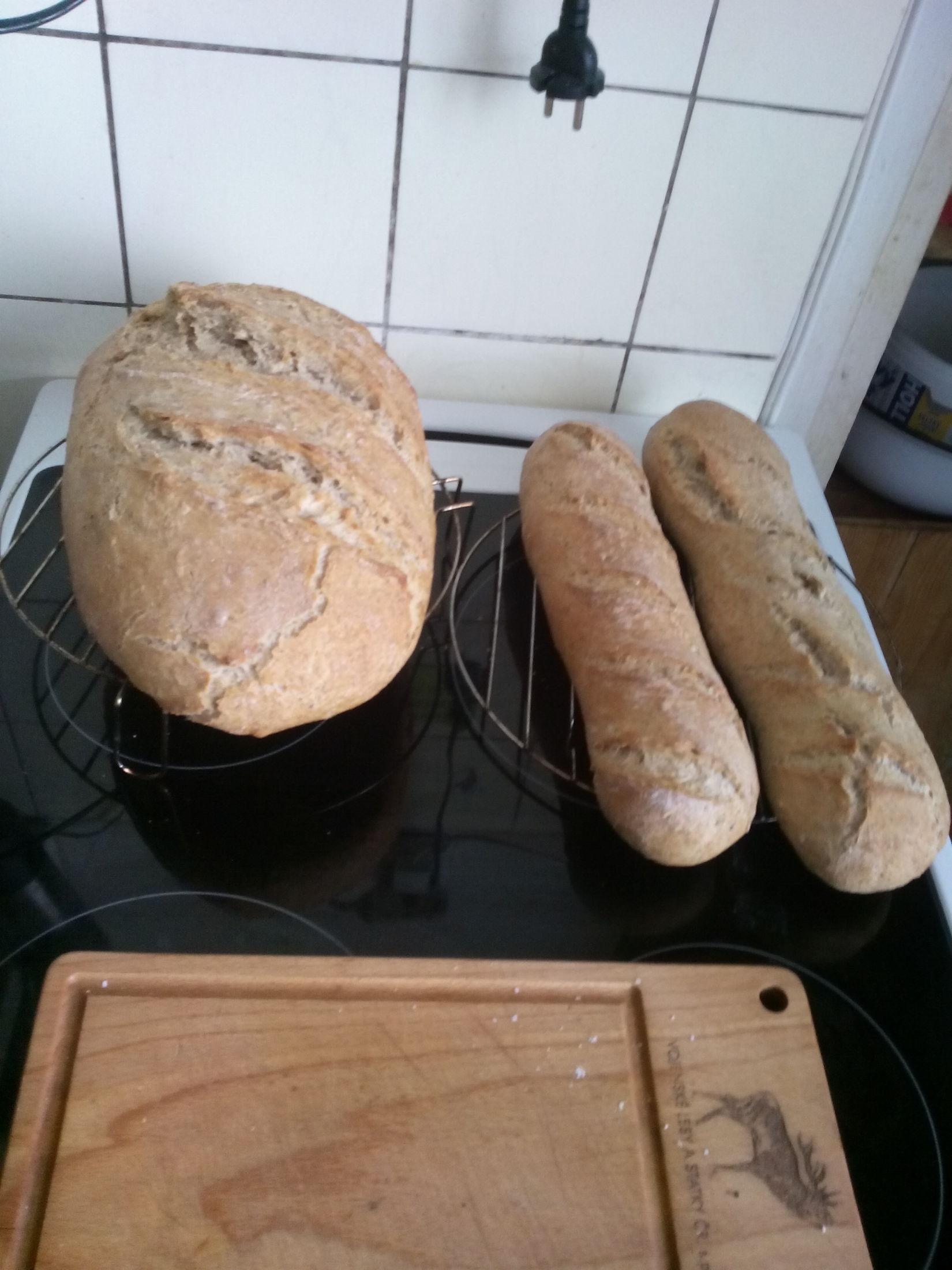 Domácí chléb z běžné trouby