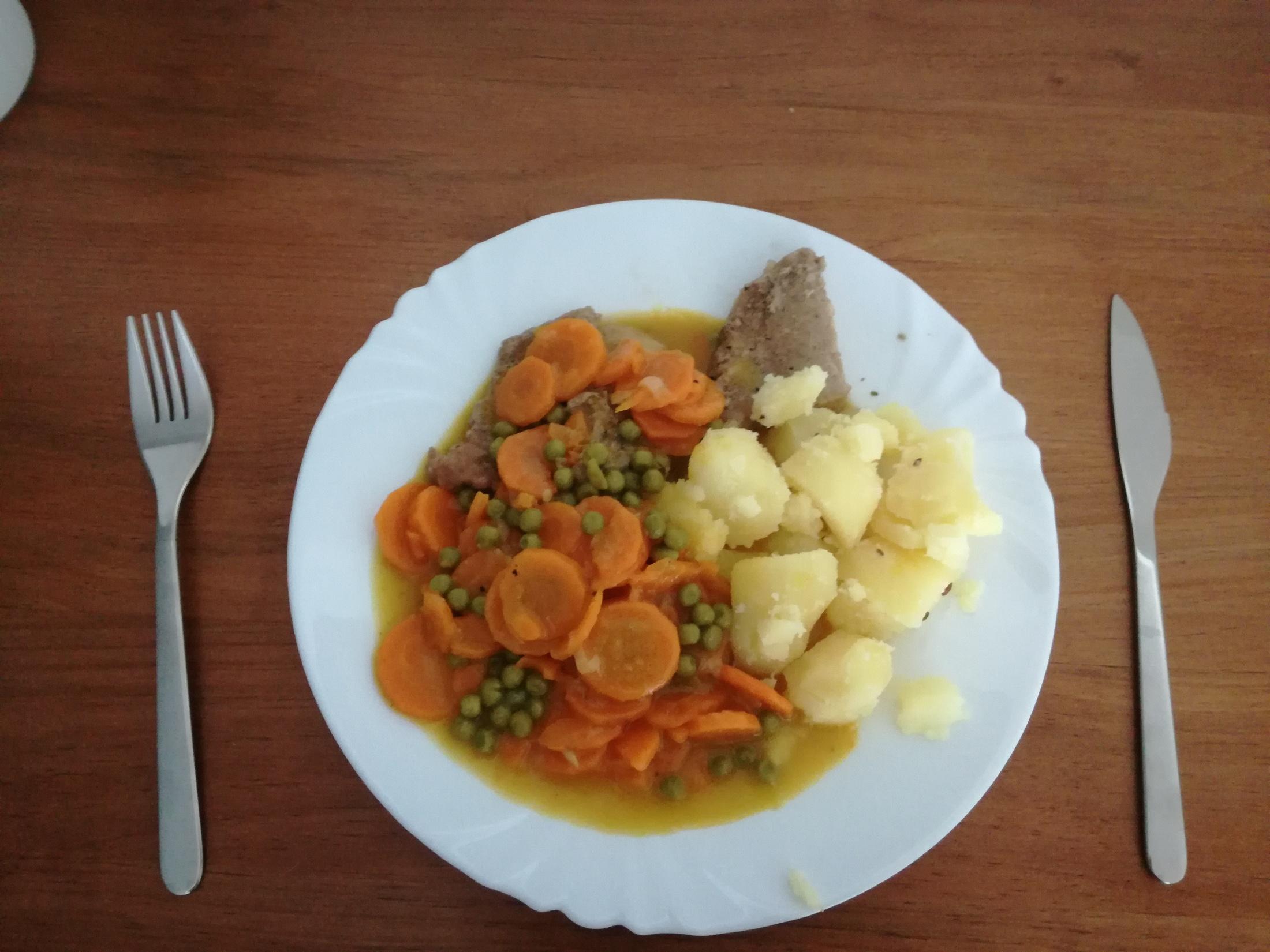 Recept Dušená mrkev - Dušená mrkev