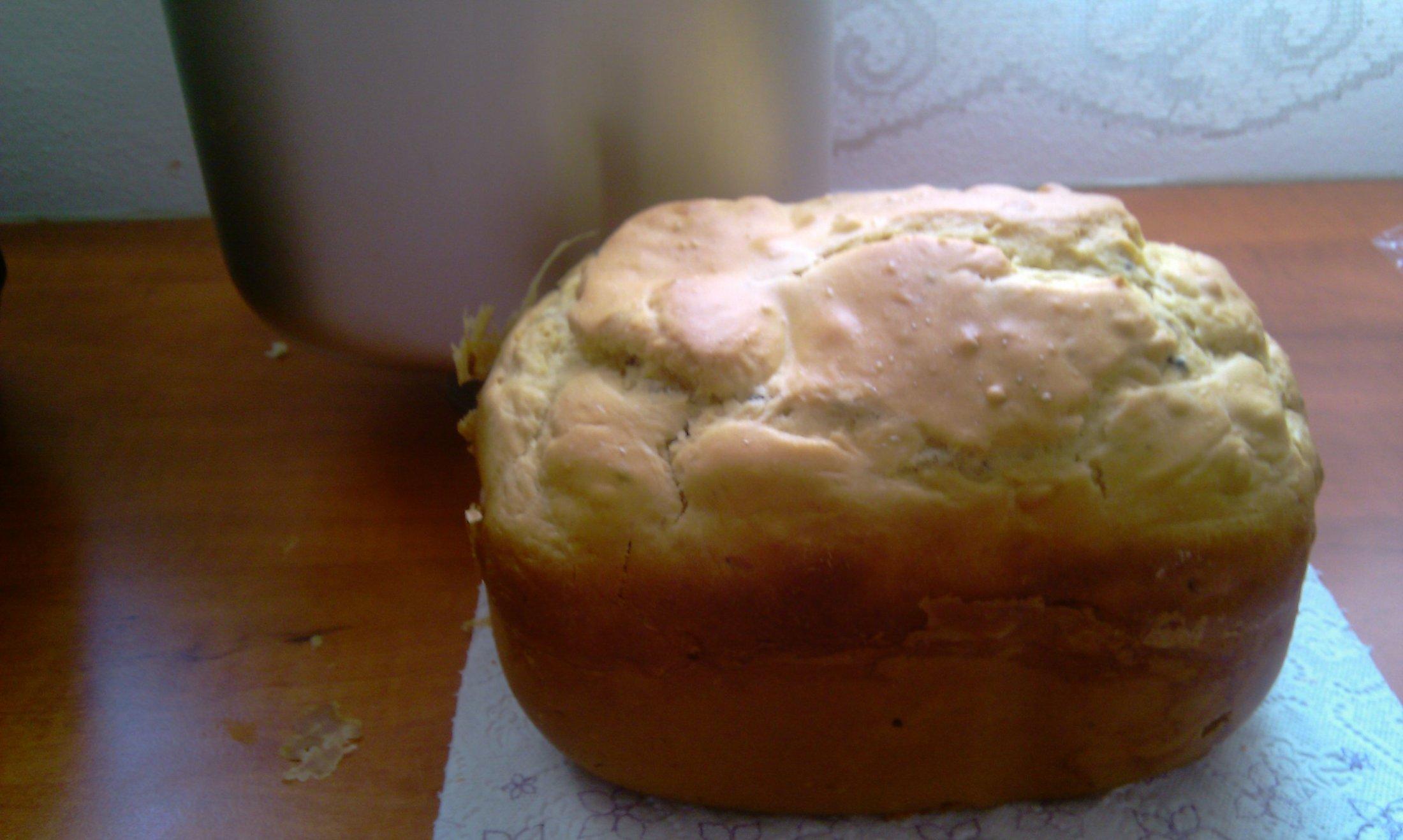 Biskupský chlebíček z domácí pekárny