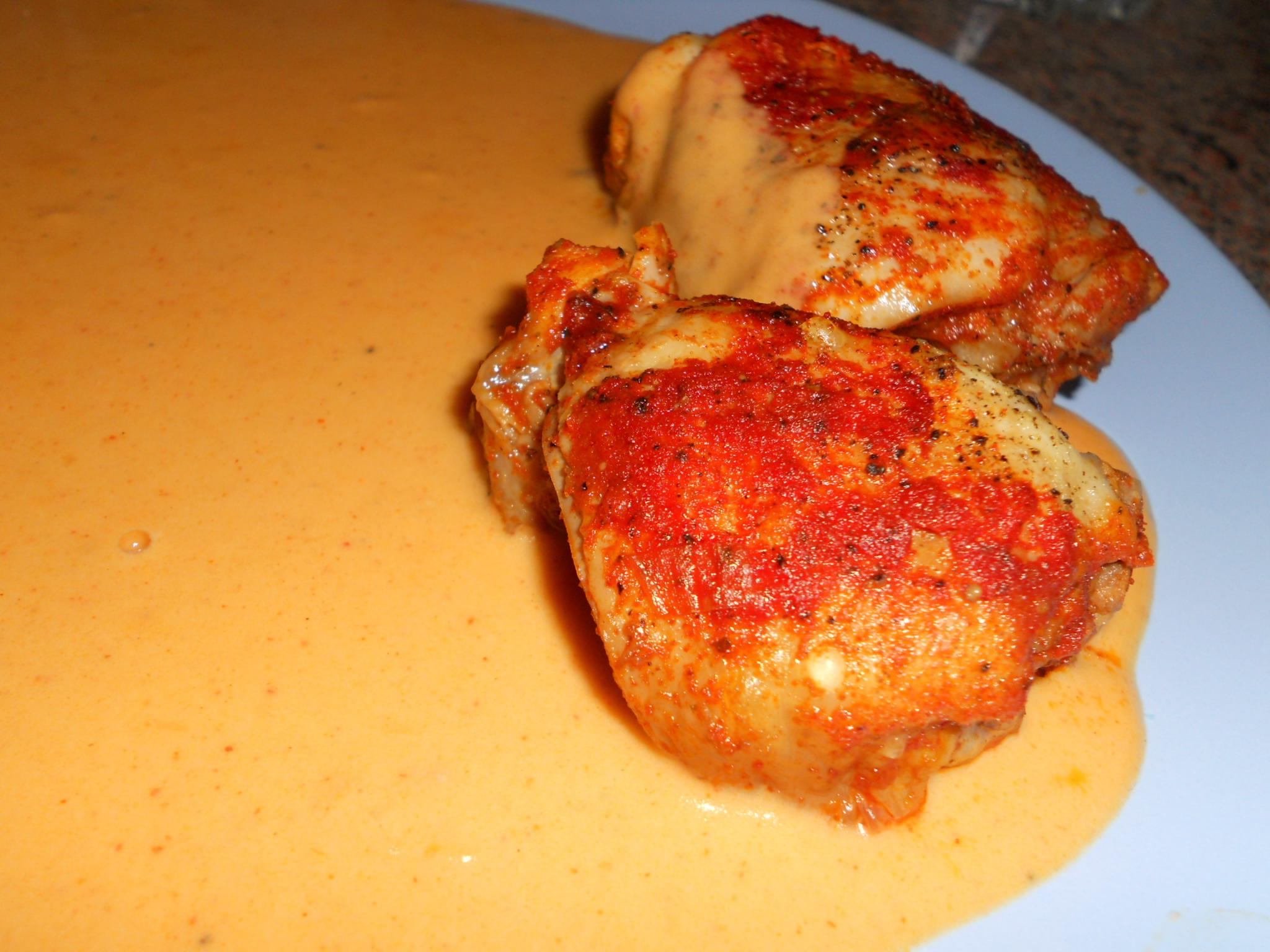 Klasické kuře na paprice