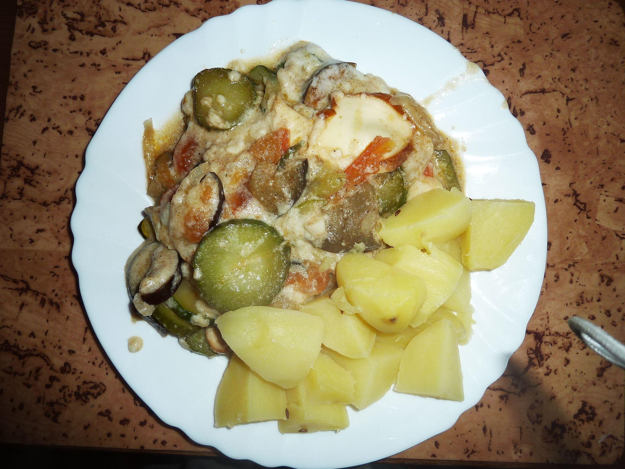 Zeleninový nákyp na bolzanský způsob
