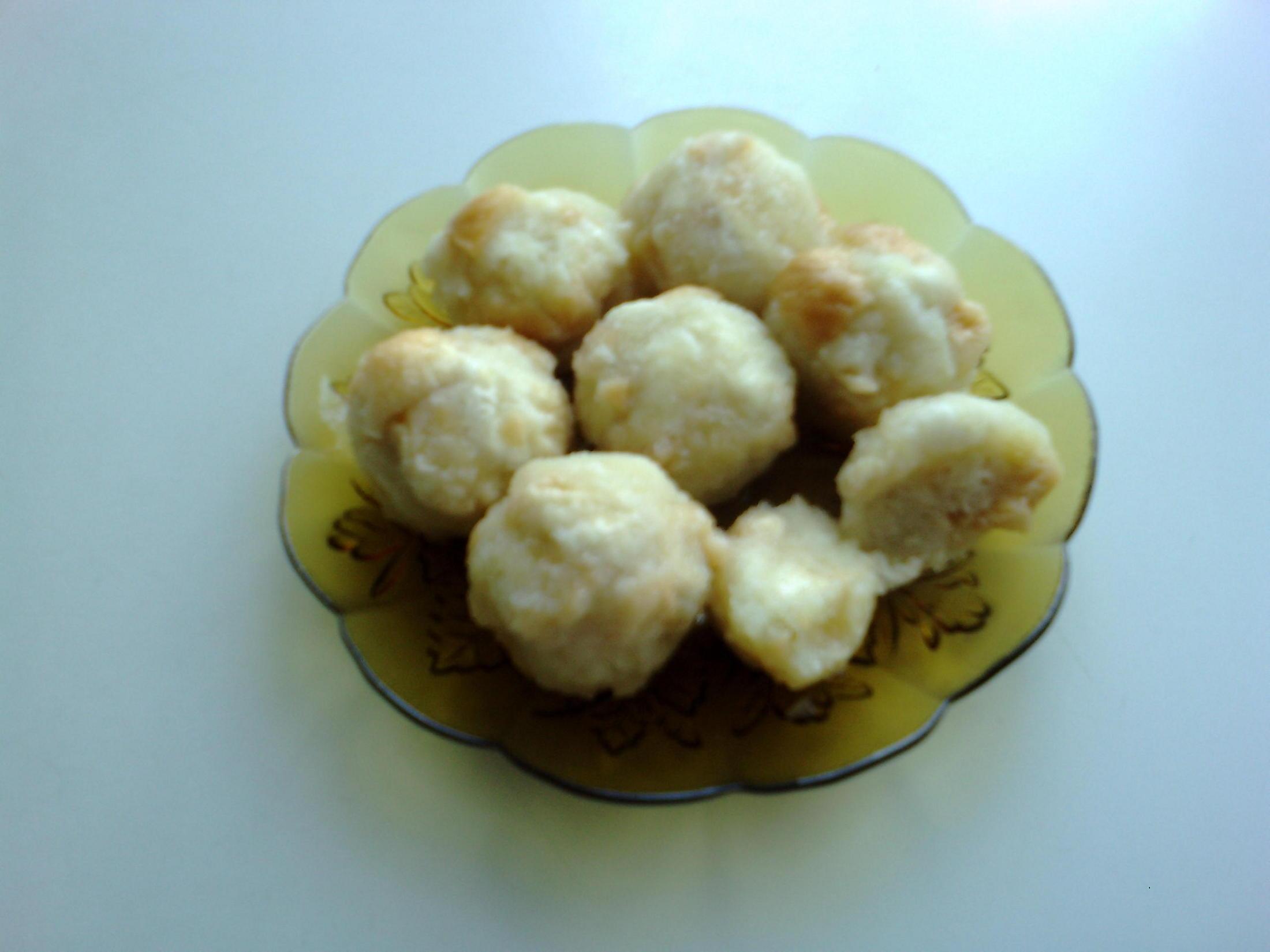 Rychlé knedlíky z brambor