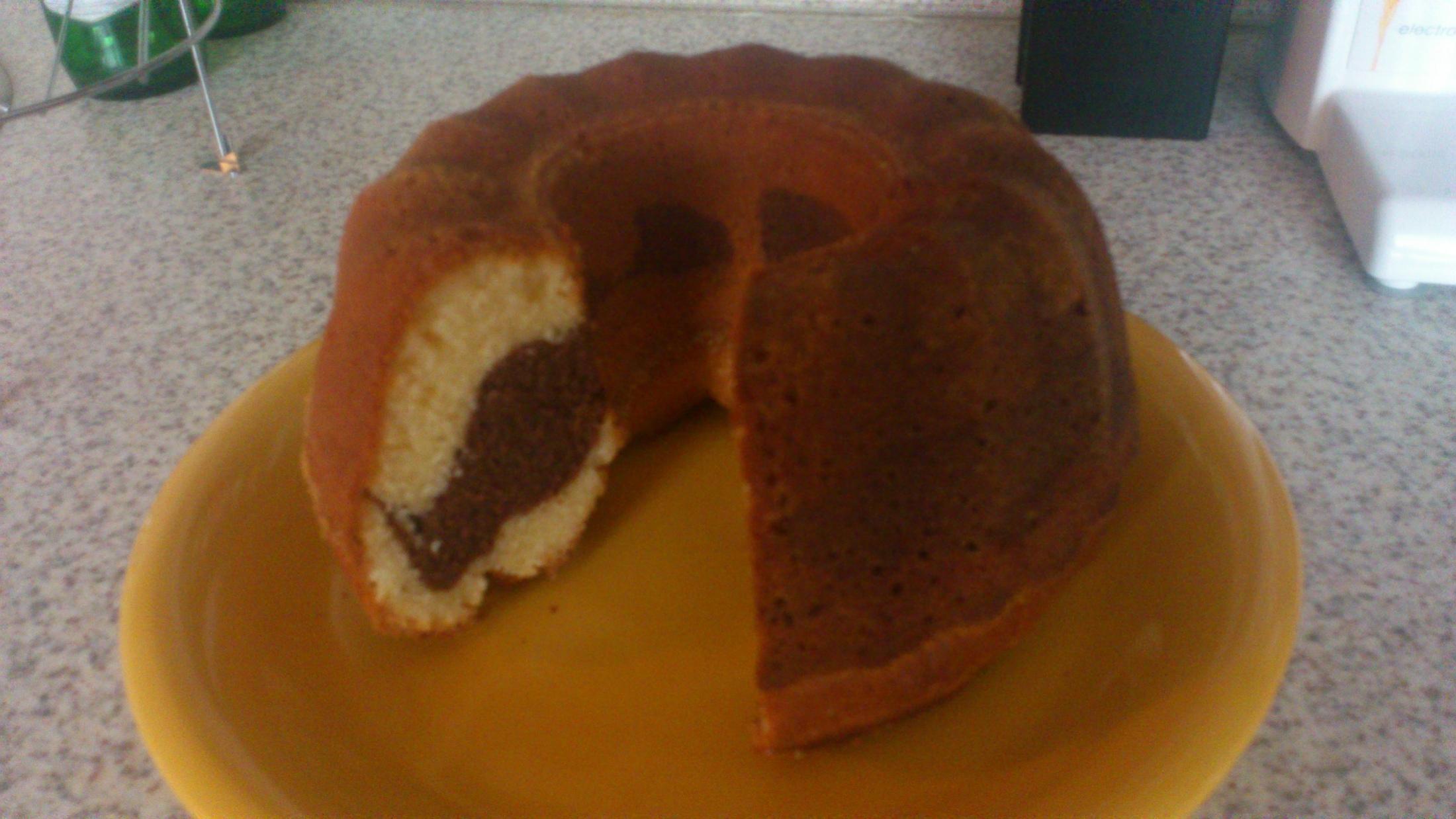 Recept Vláčná šlehačková bábovka - Vláčná šlehačková bábovka