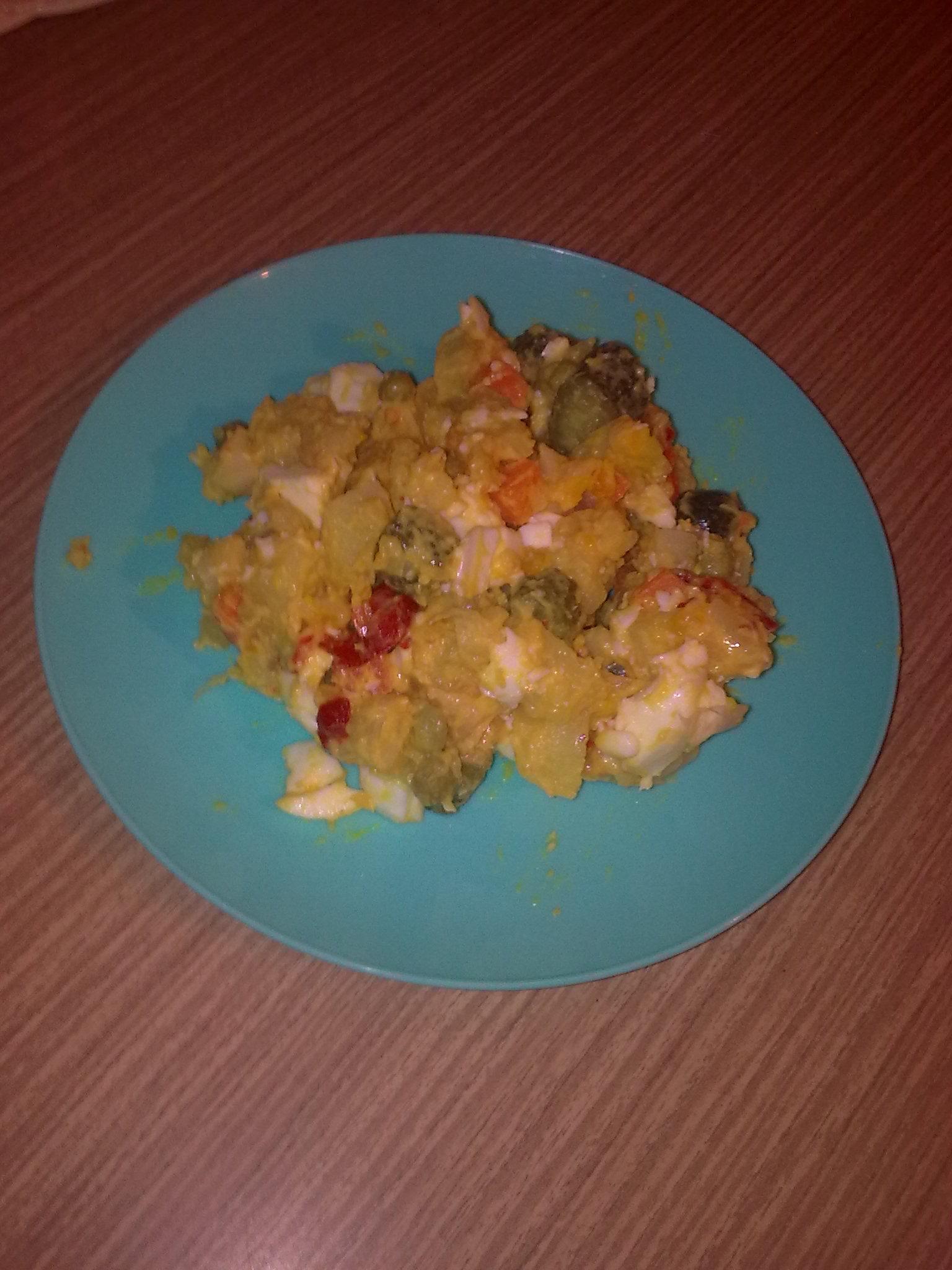 Zdravý bramborový salát bez majonézy