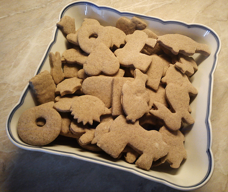 Fotografie receptu: Skořicové sušenky pro děti
