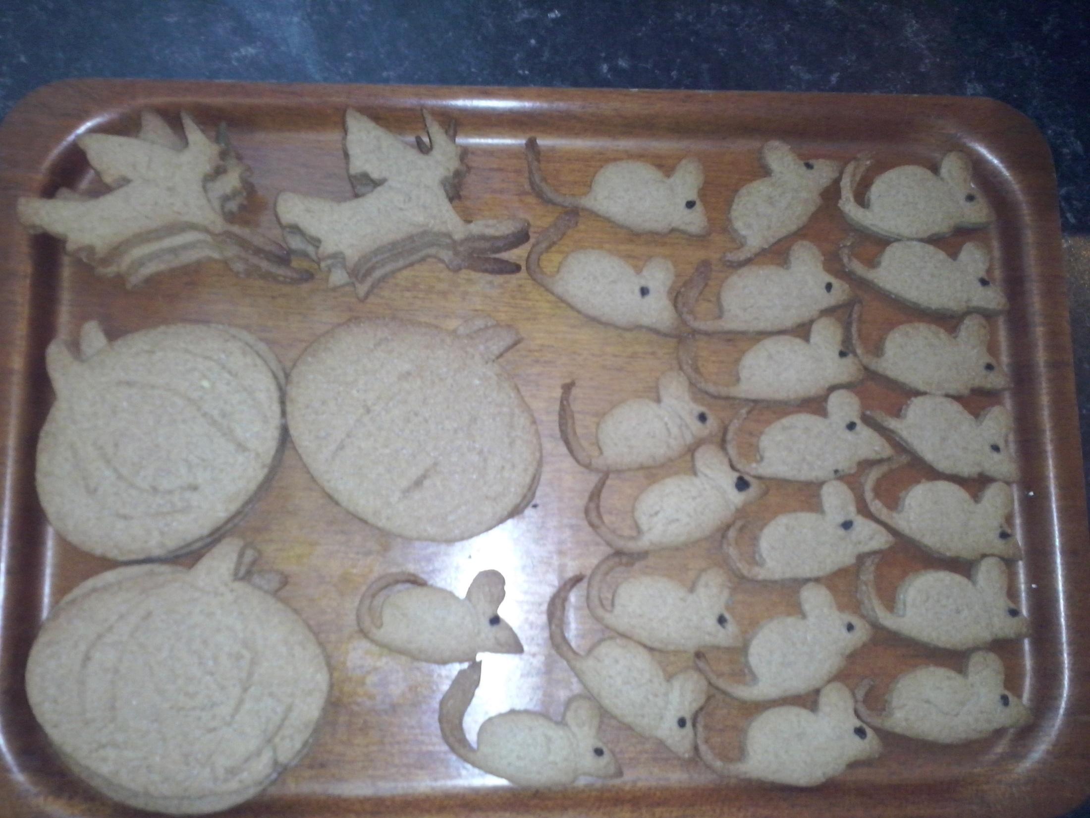 Recept Skořicové sušenky pro děti - Skořicové sušenky na Halloween párty