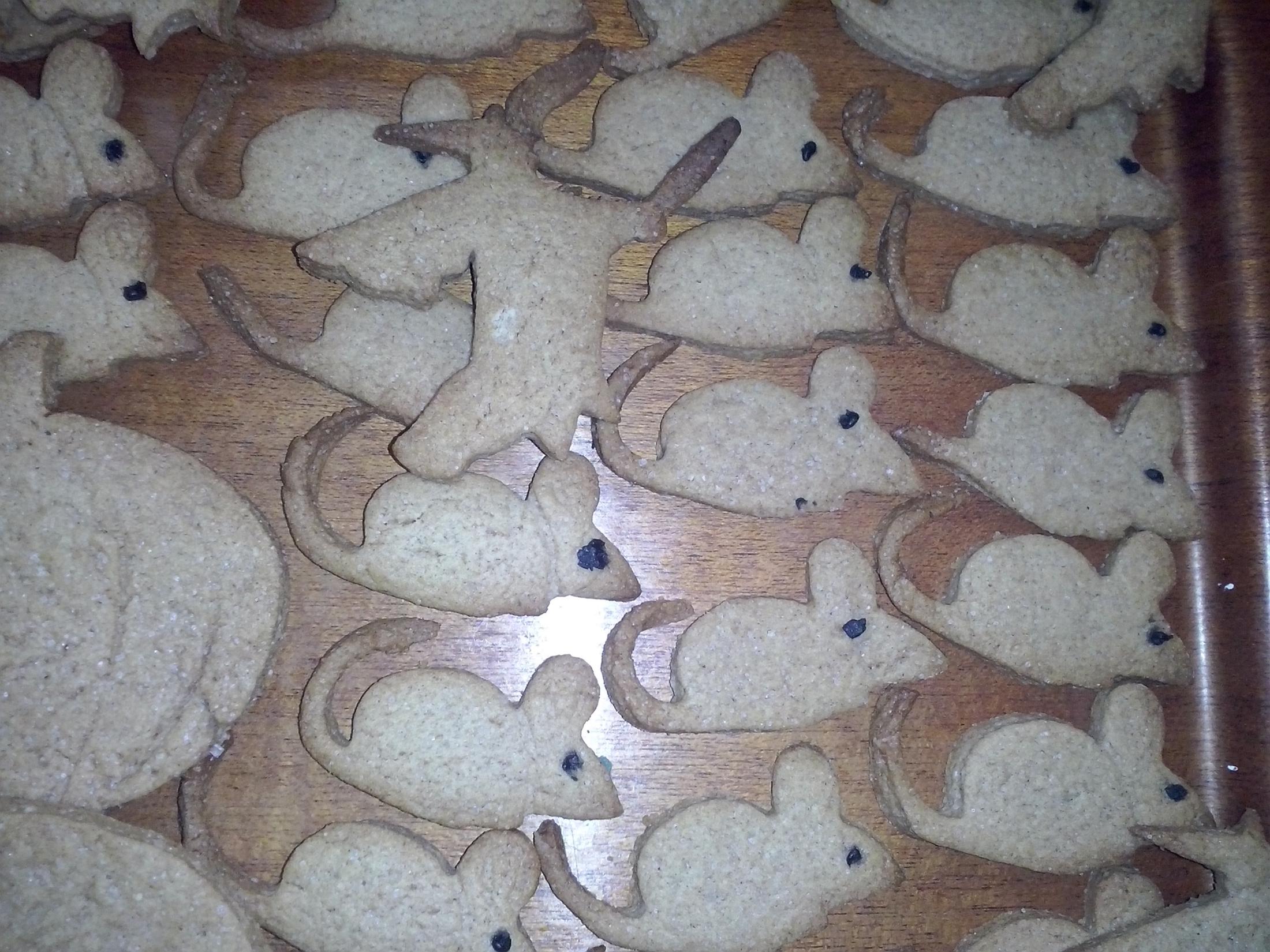 Recept Skořicové sušenky pro děti - Myšky