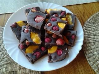 Kakaovo-ovocná buchta