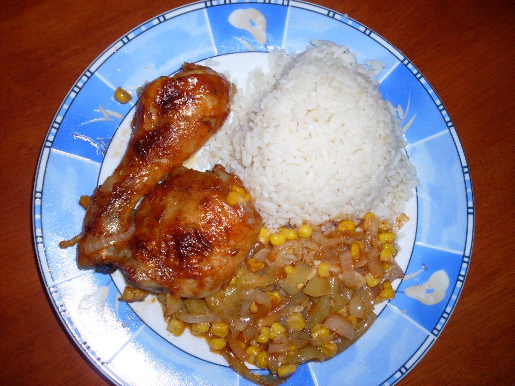 Fotografie receptu: Mexická kuřecí stehna