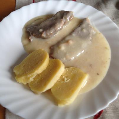 Snadný bramborový knedlík