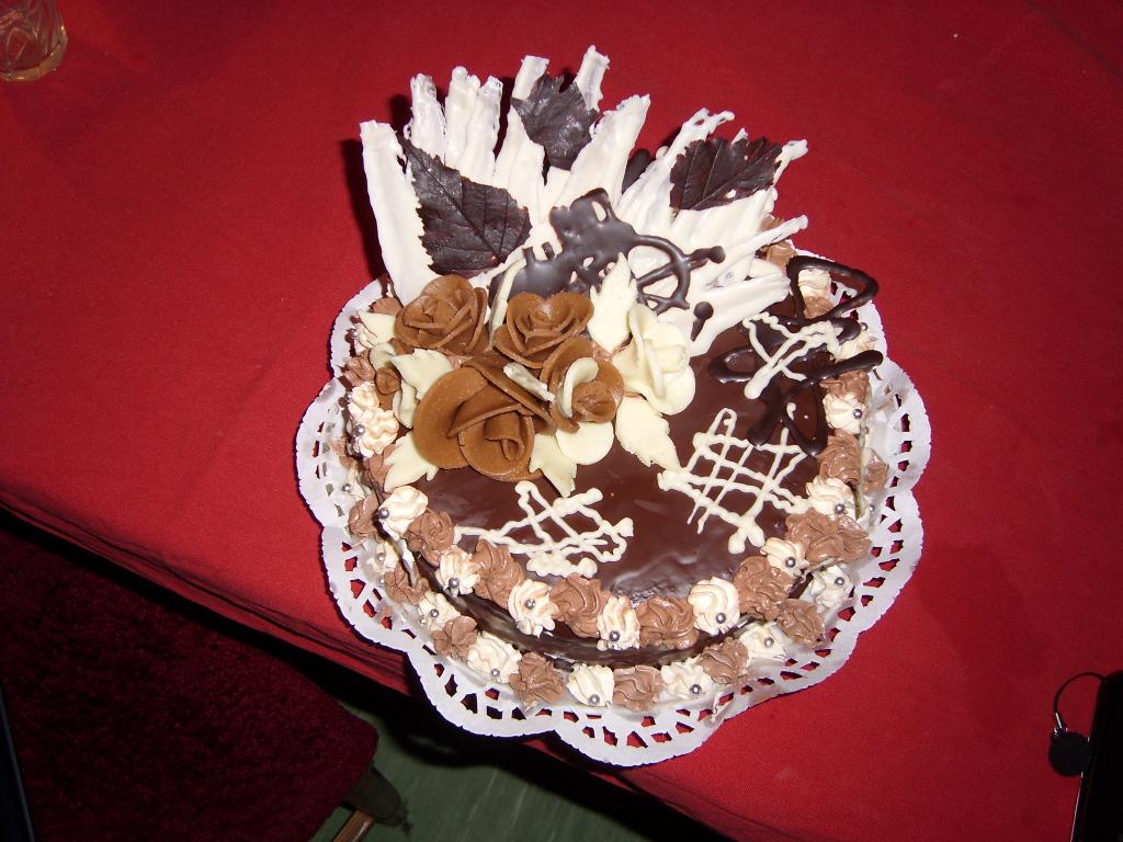 Falešný Sacher dort