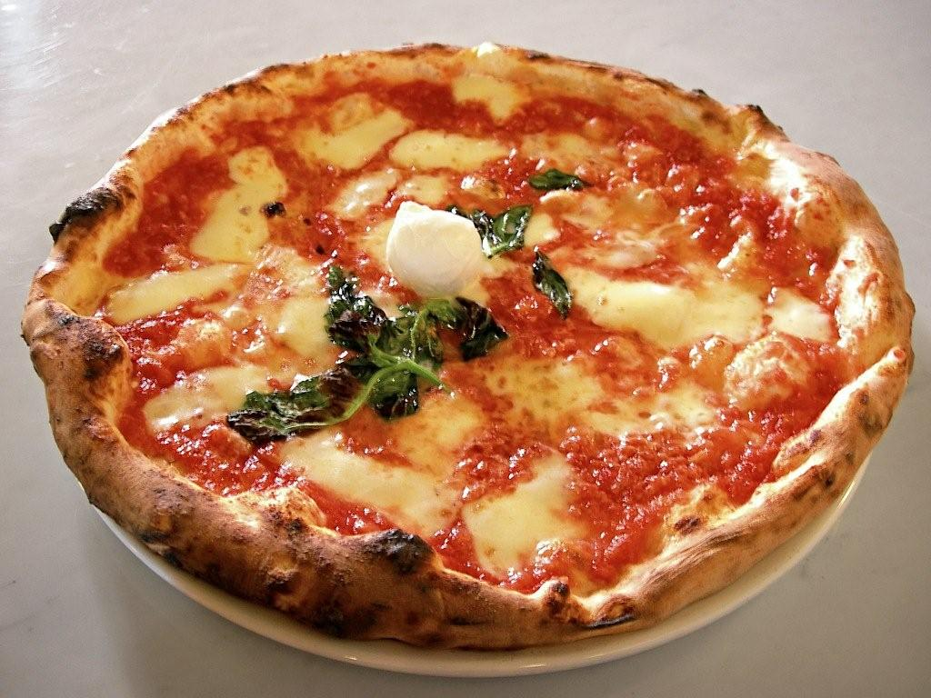 Italská pizza Margherita
