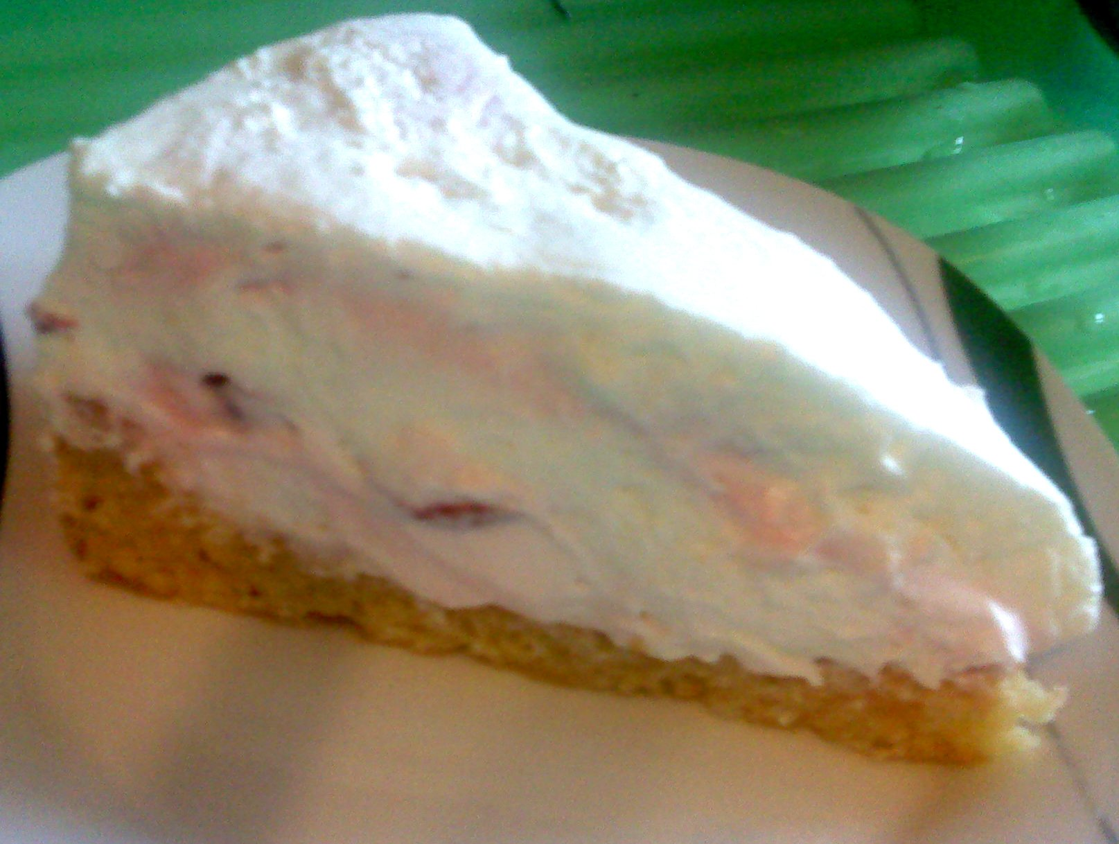 Recept Smetanovo-tvarohový dort s jahodami  - Smetanovo-tvarohový dort s jahodami