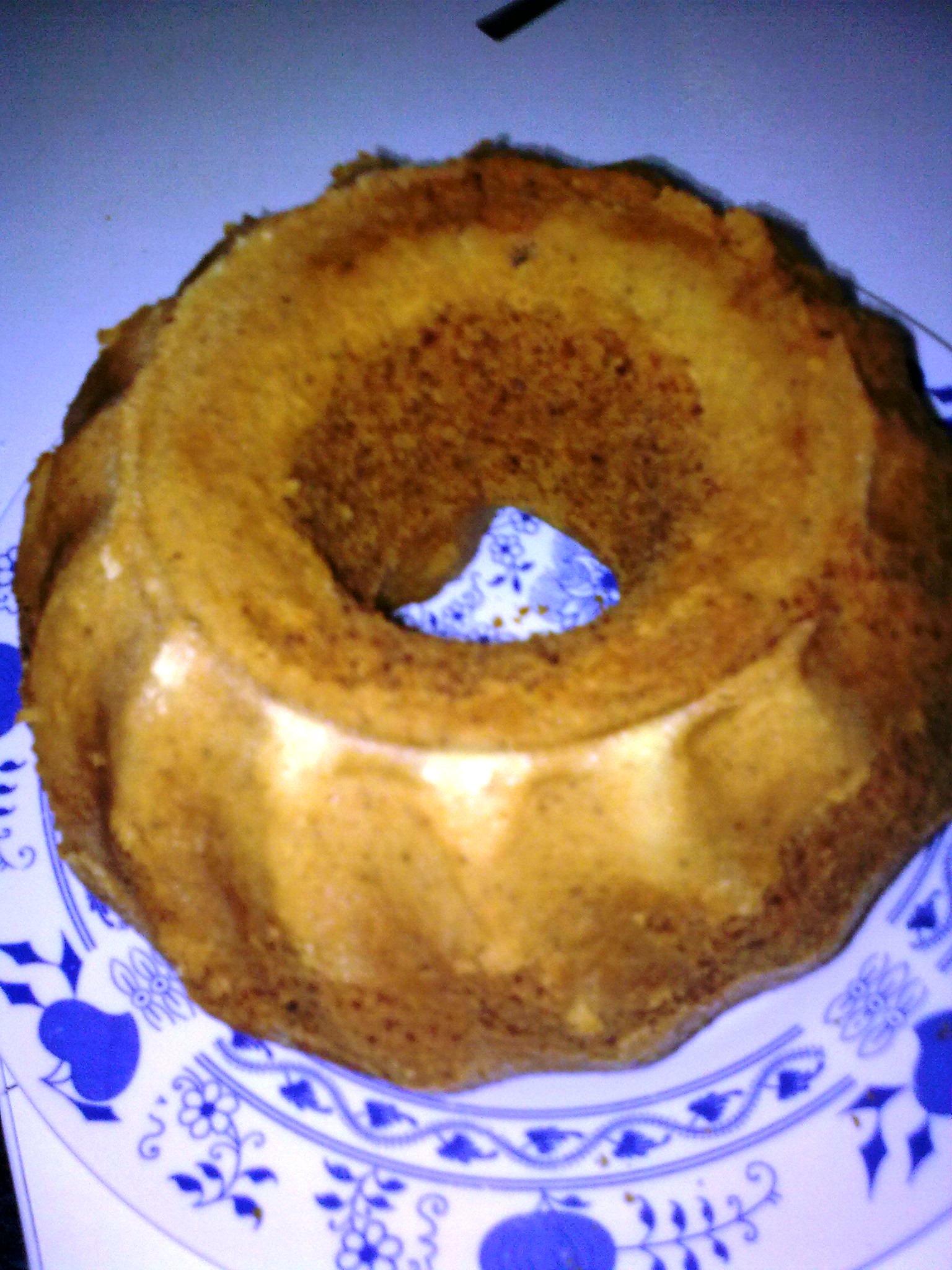 Recept Citronová bábovka s ořechy - Citronová bábovka s ořechy