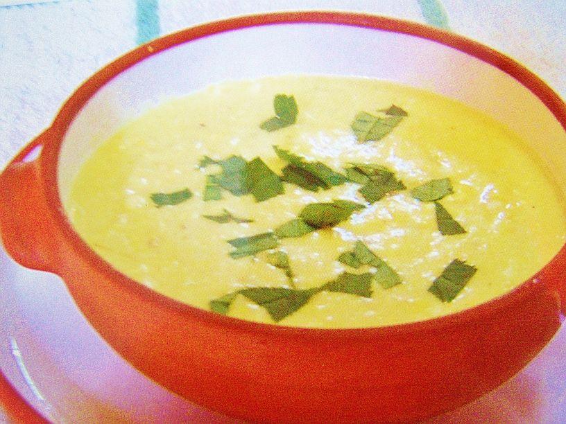 Fotografie receptu: Kukuřičná mléčná polévka