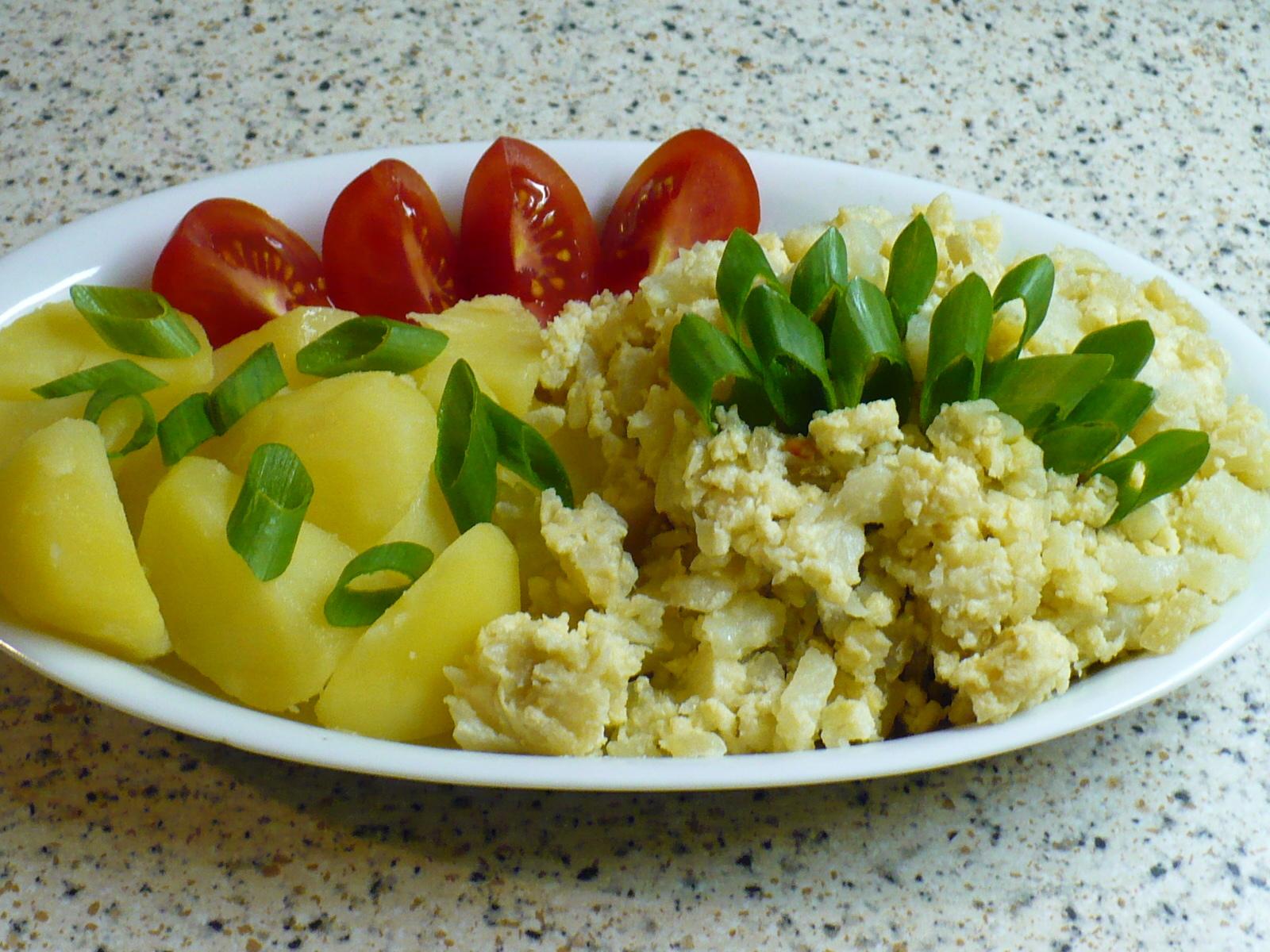 Recept Květákový mozeček s brambory 1 - Jednoduché a chutné