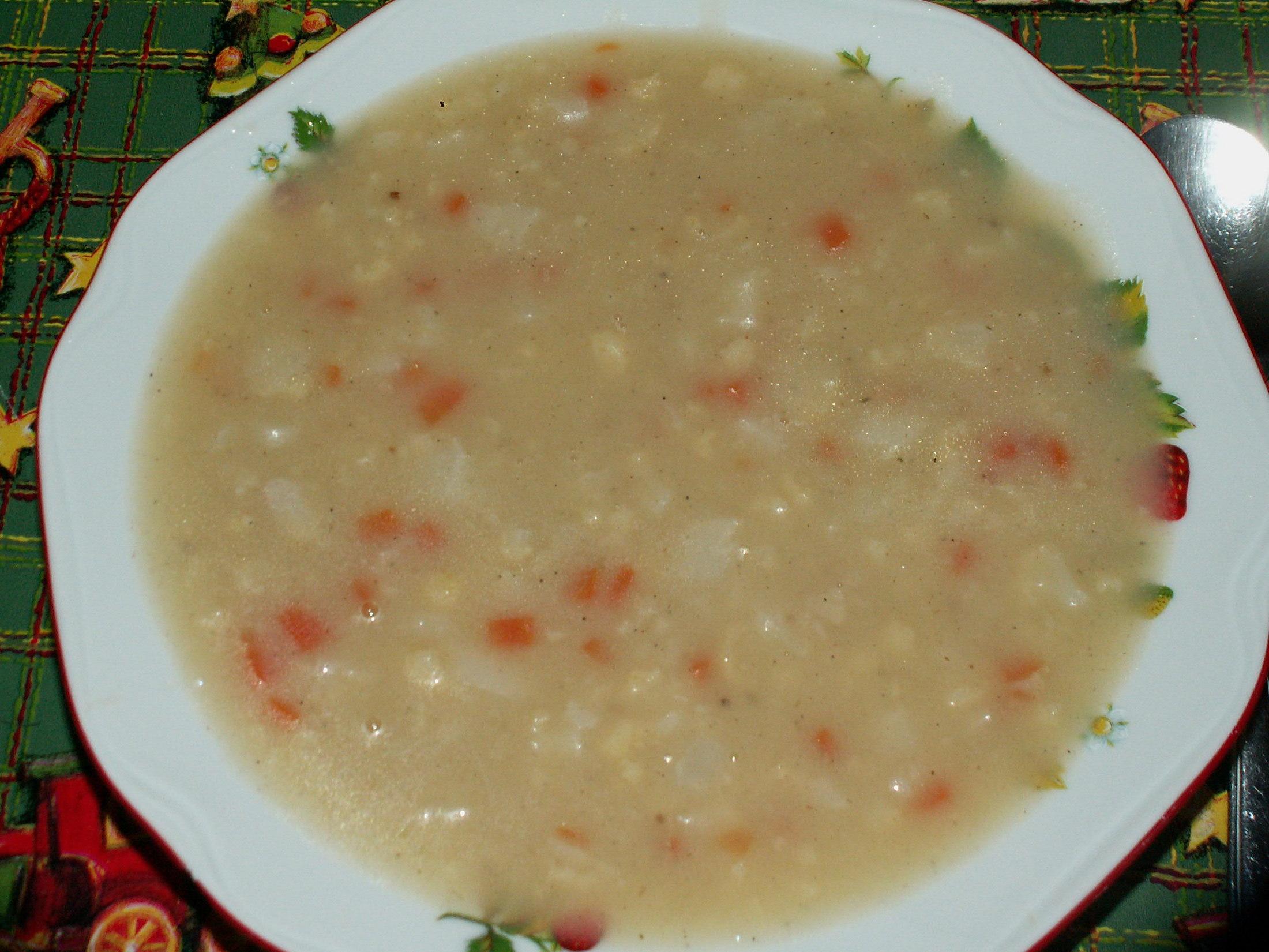 Hustá květáková polévka