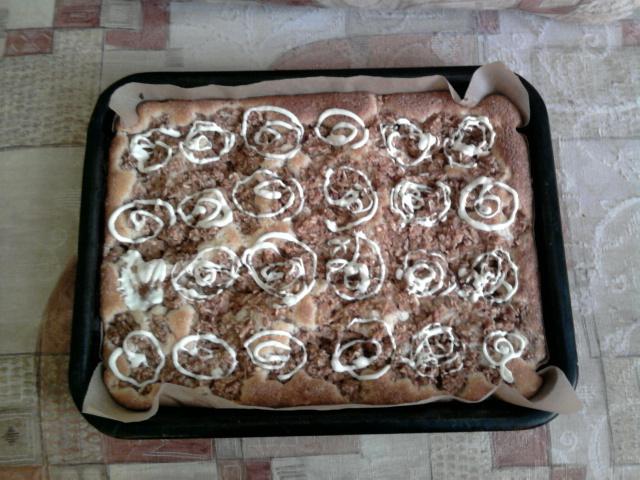 Recept Buchta s jablky a kokosem - Vyzkoušela jsem a je výborná!