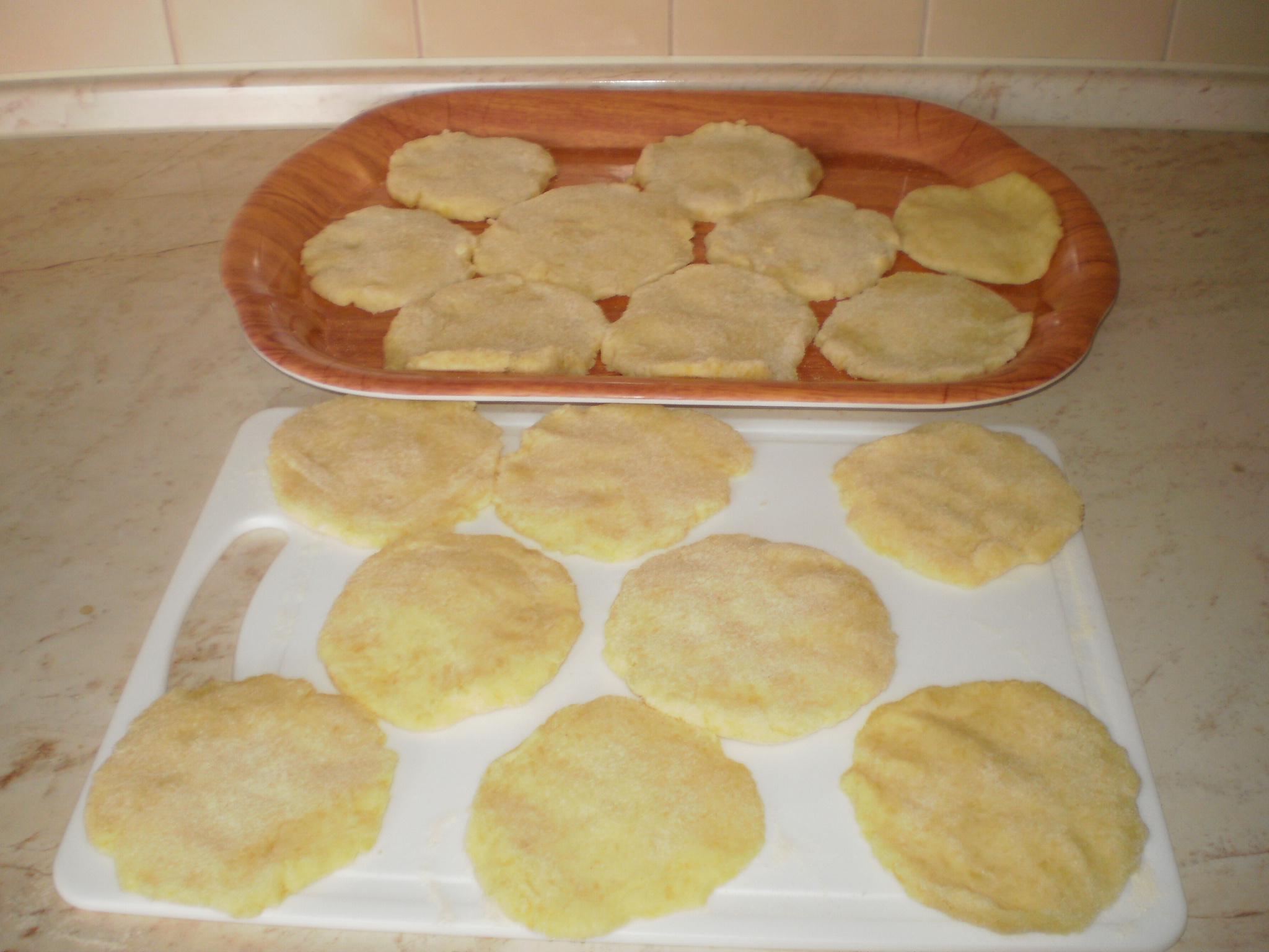 Recept Bramborové placky - připravené ke smažení