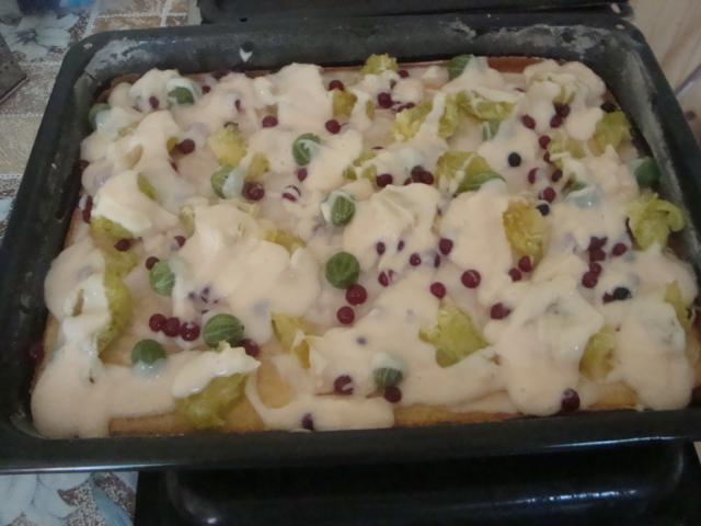 Fotografie receptu: Rychlá buchta na plech