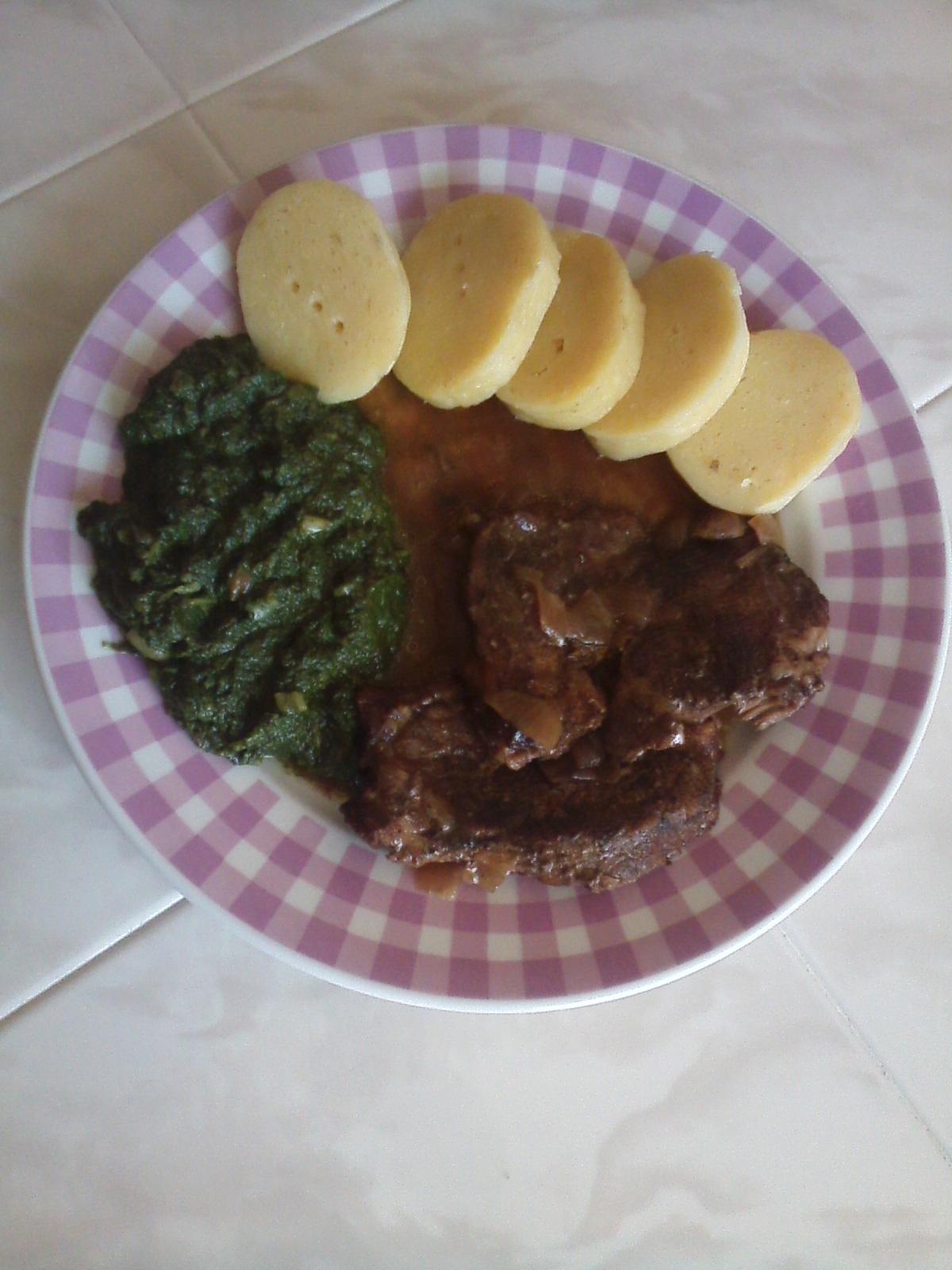 Recept Dušené hovězí na česneku - Hovězí na česneku