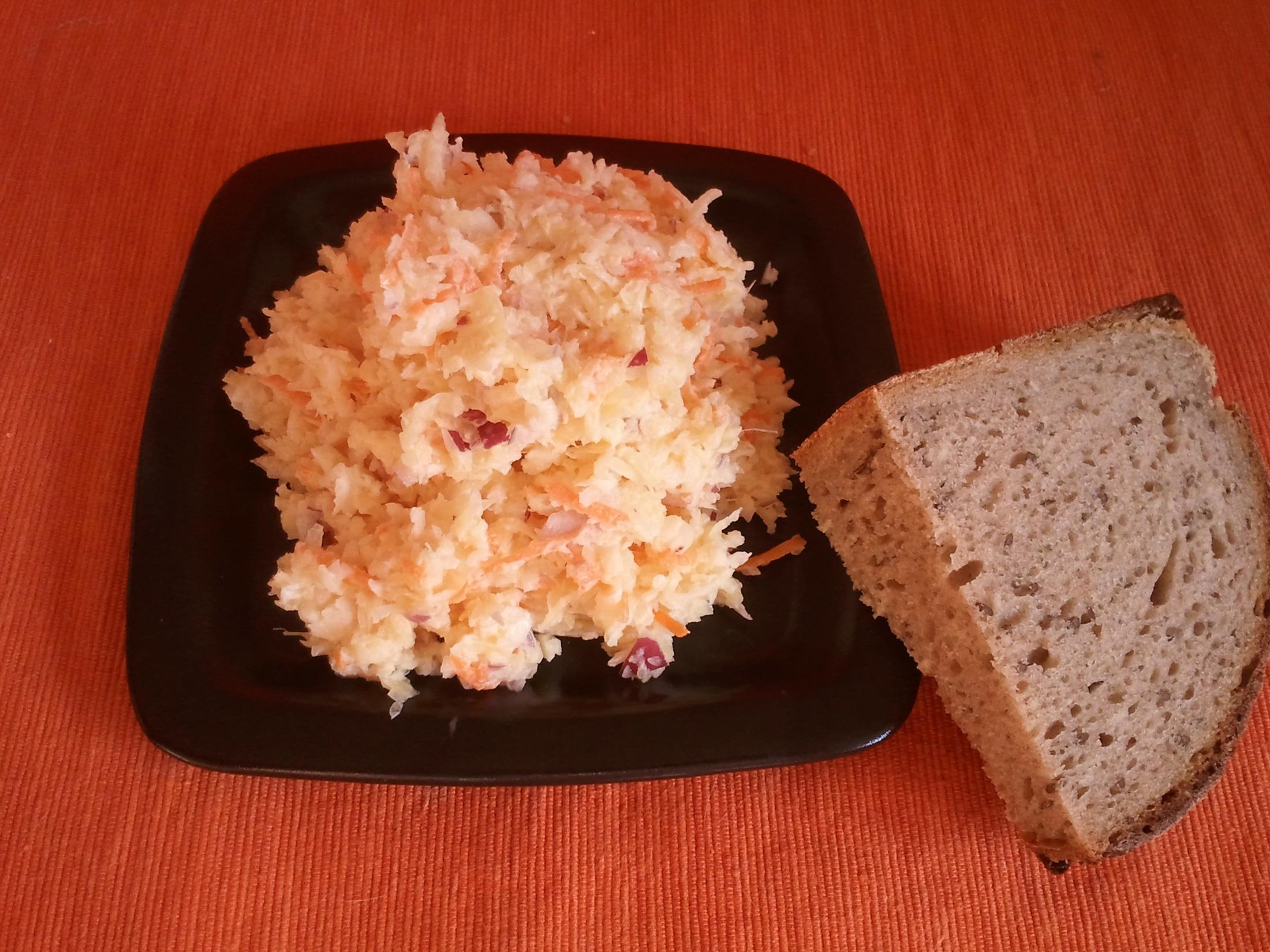 Recept Pravý salát Coleslaw - Pravý salát Coleslaw