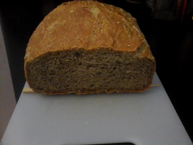 Recept Domácí chleba bez hnětení - Domácí chléb bez hnětení
