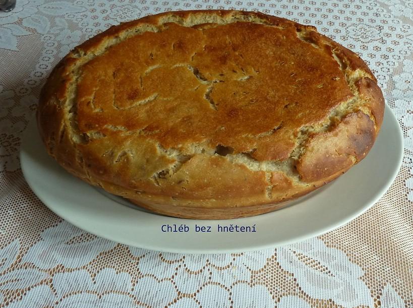 Recept Domácí chleba bez hnětení - Moc dobrý recept na chléb.