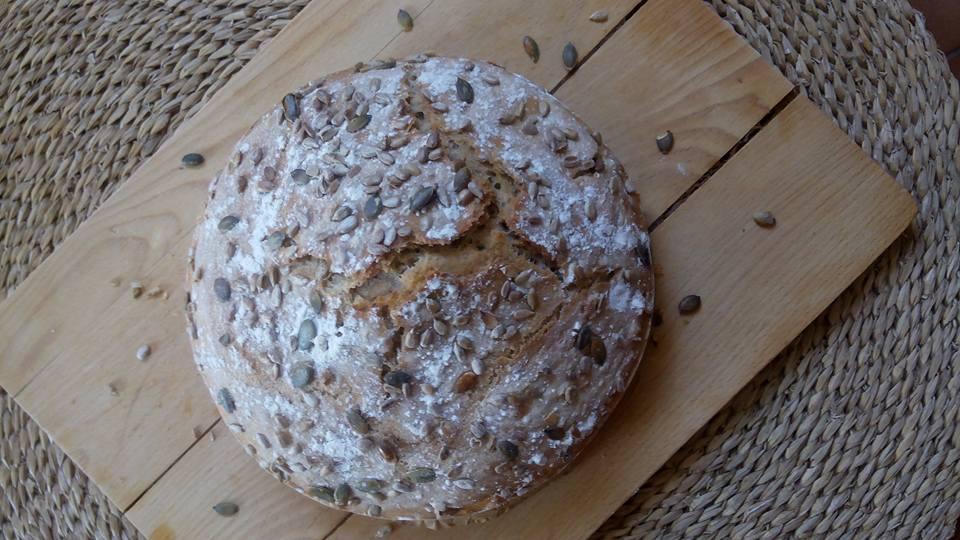 Recept Domácí chleba bez hnětení - Domácí chleba bez hnětení 8.8.2015