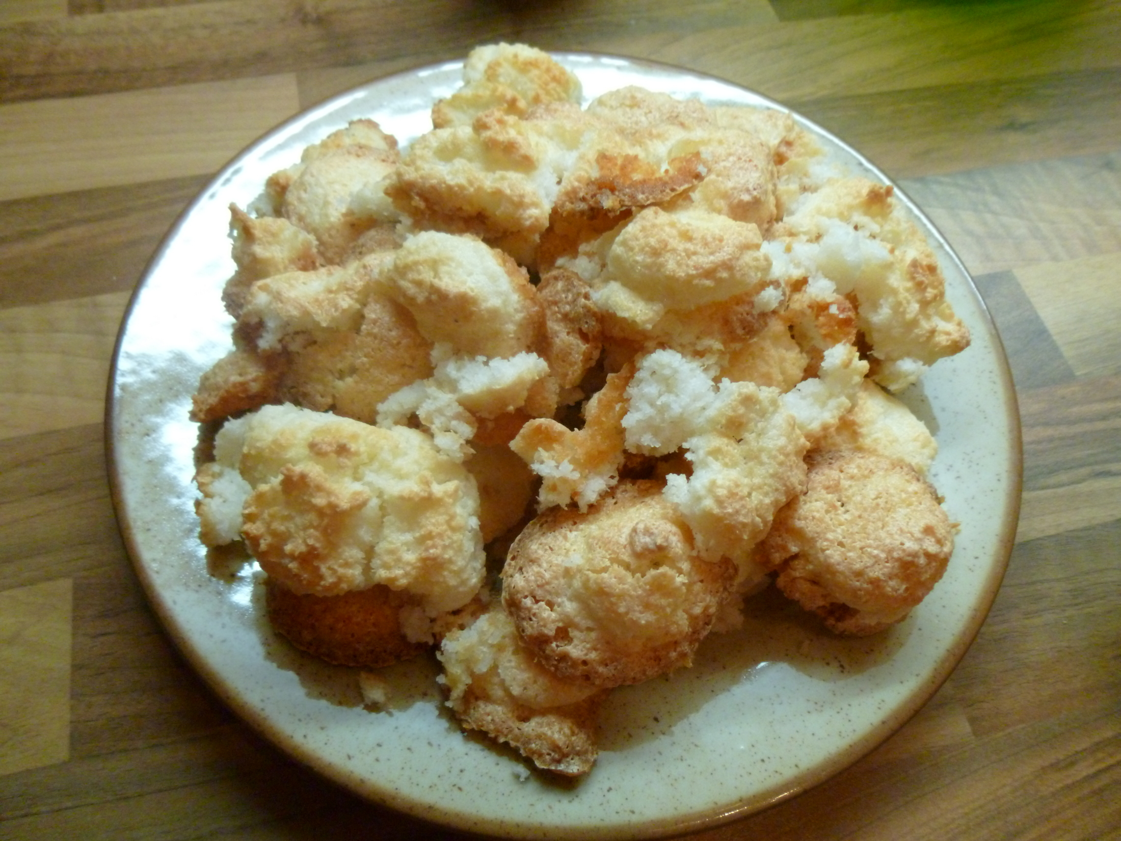 Fotografie receptu: Jednoduché kokosové pusinky