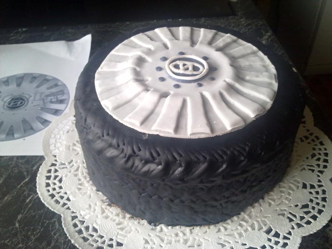 Kakaový korpus na dort