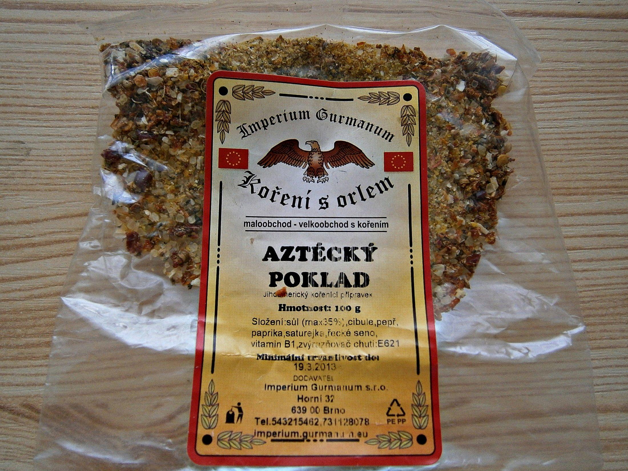 Recept Šťavnaté karbanátky - pro zajímavost foto koření